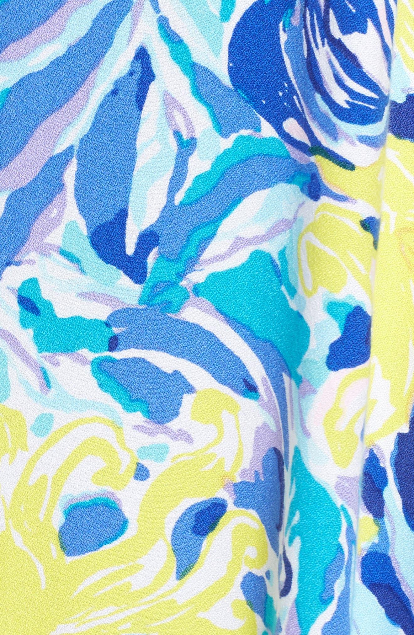 Achelle Trapeze Dress,                             Alternate thumbnail 5, color,                             427
