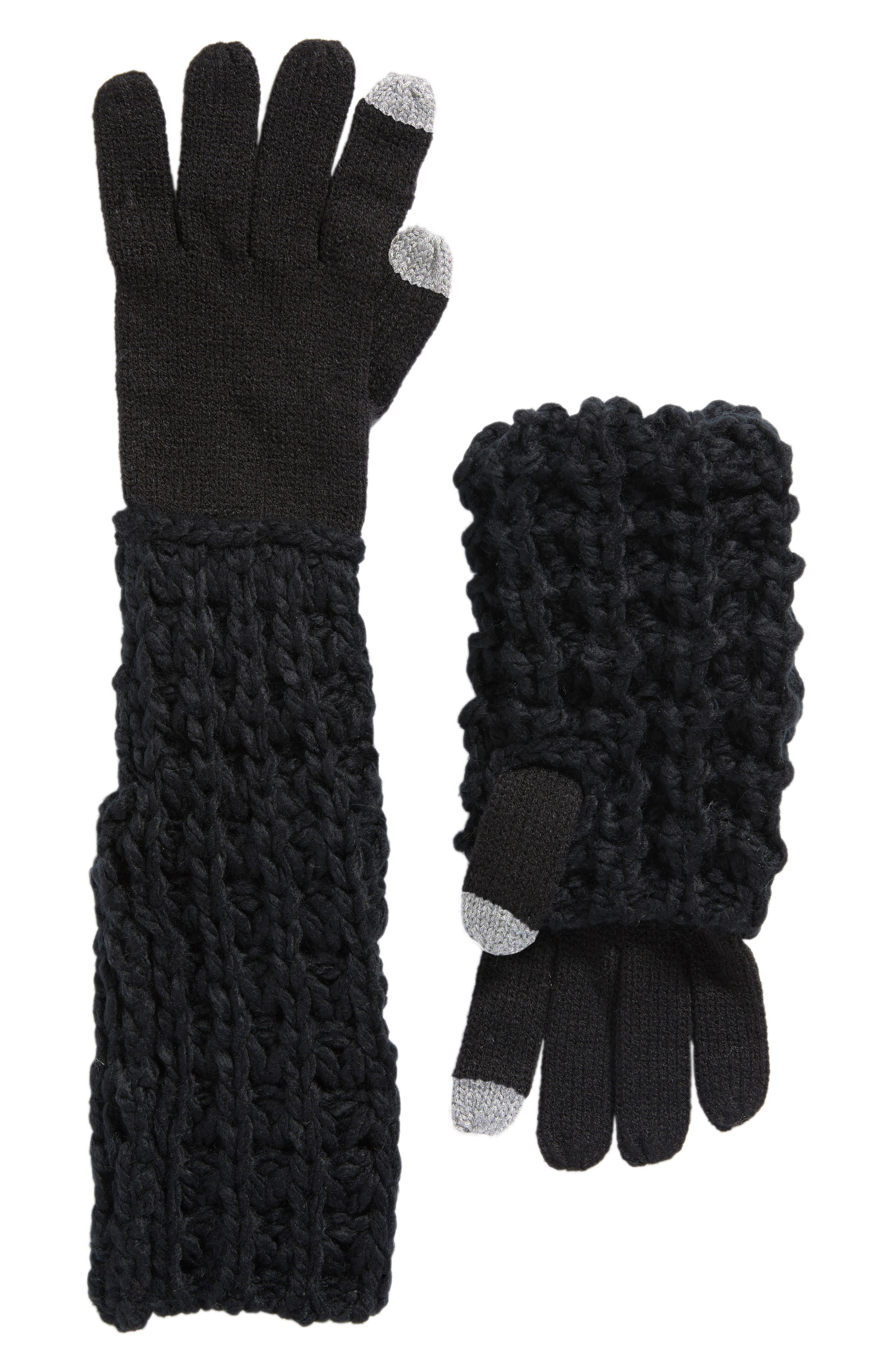 Chunky Tuck Gloves,                         Main,                         color, 001