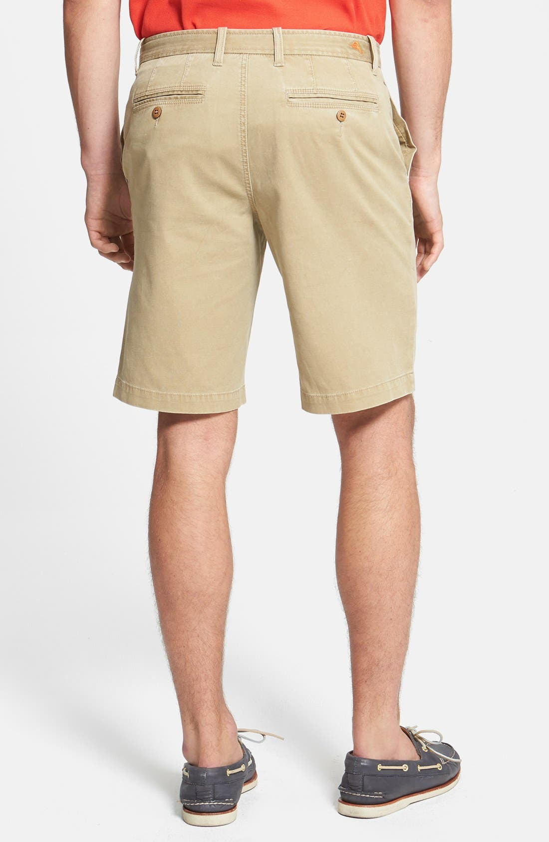 'Bedford & Son' Corduroy Walking Shorts,                             Alternate thumbnail 4, color,                             200