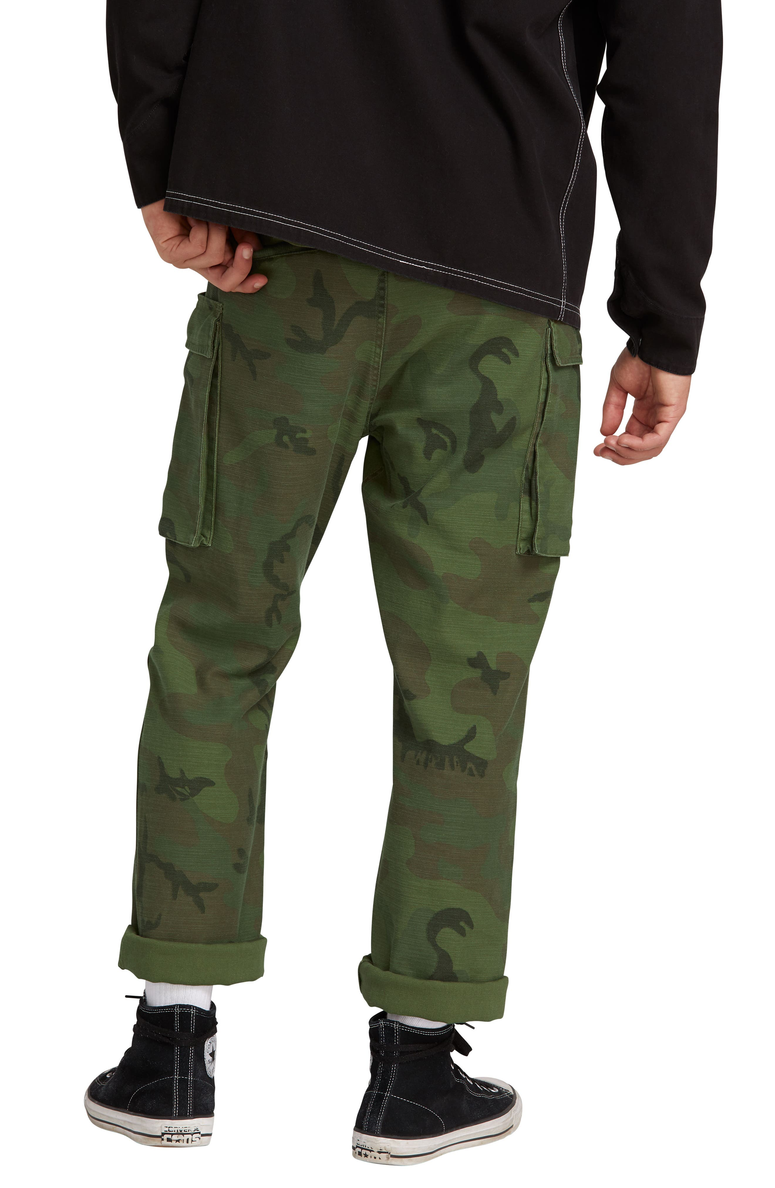 Gritter Cargo Pants,                             Alternate thumbnail 2, color,                             CAMOUFLAGE