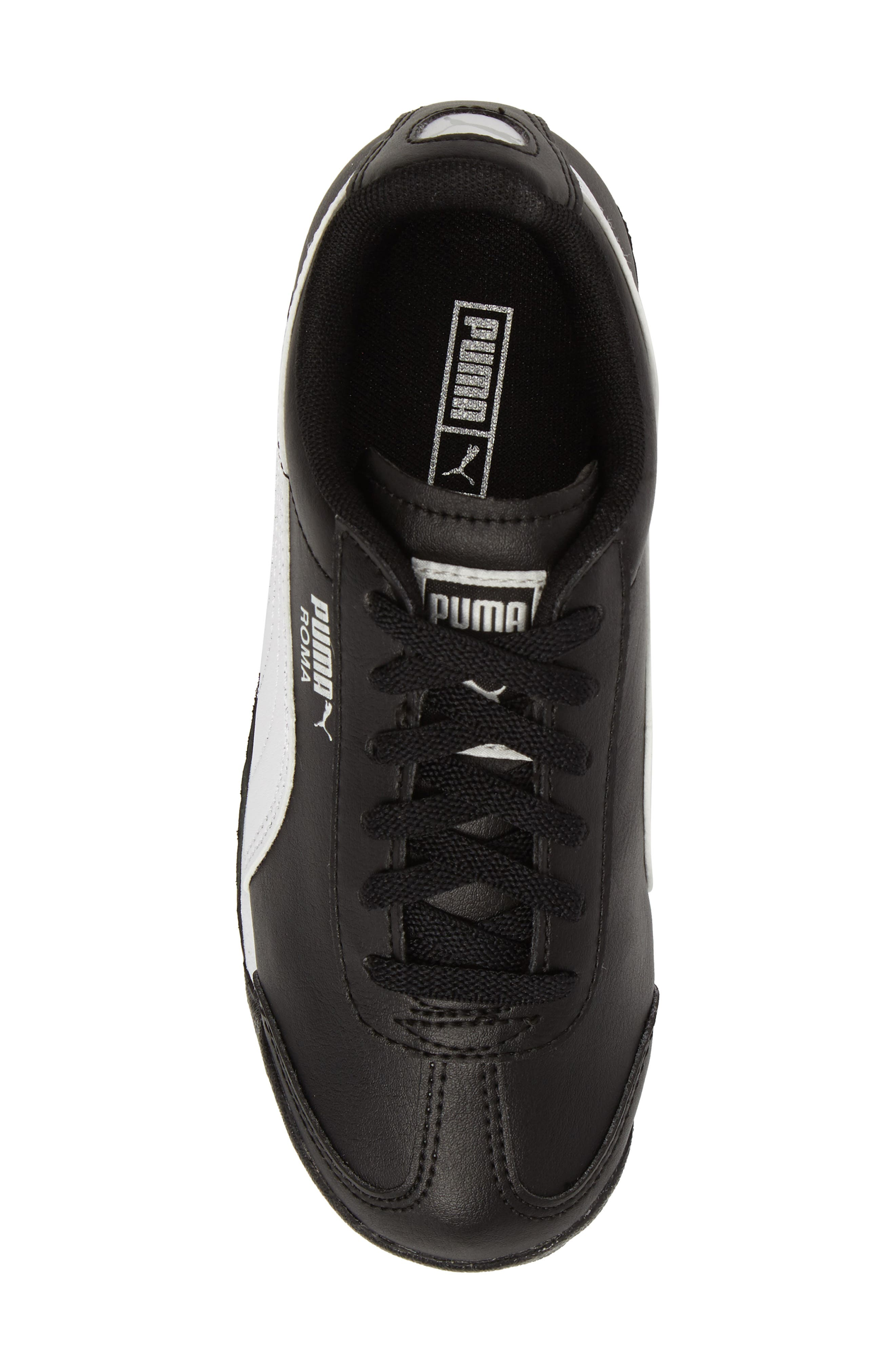Roma Basic Sneaker,                             Alternate thumbnail 5, color,                             001