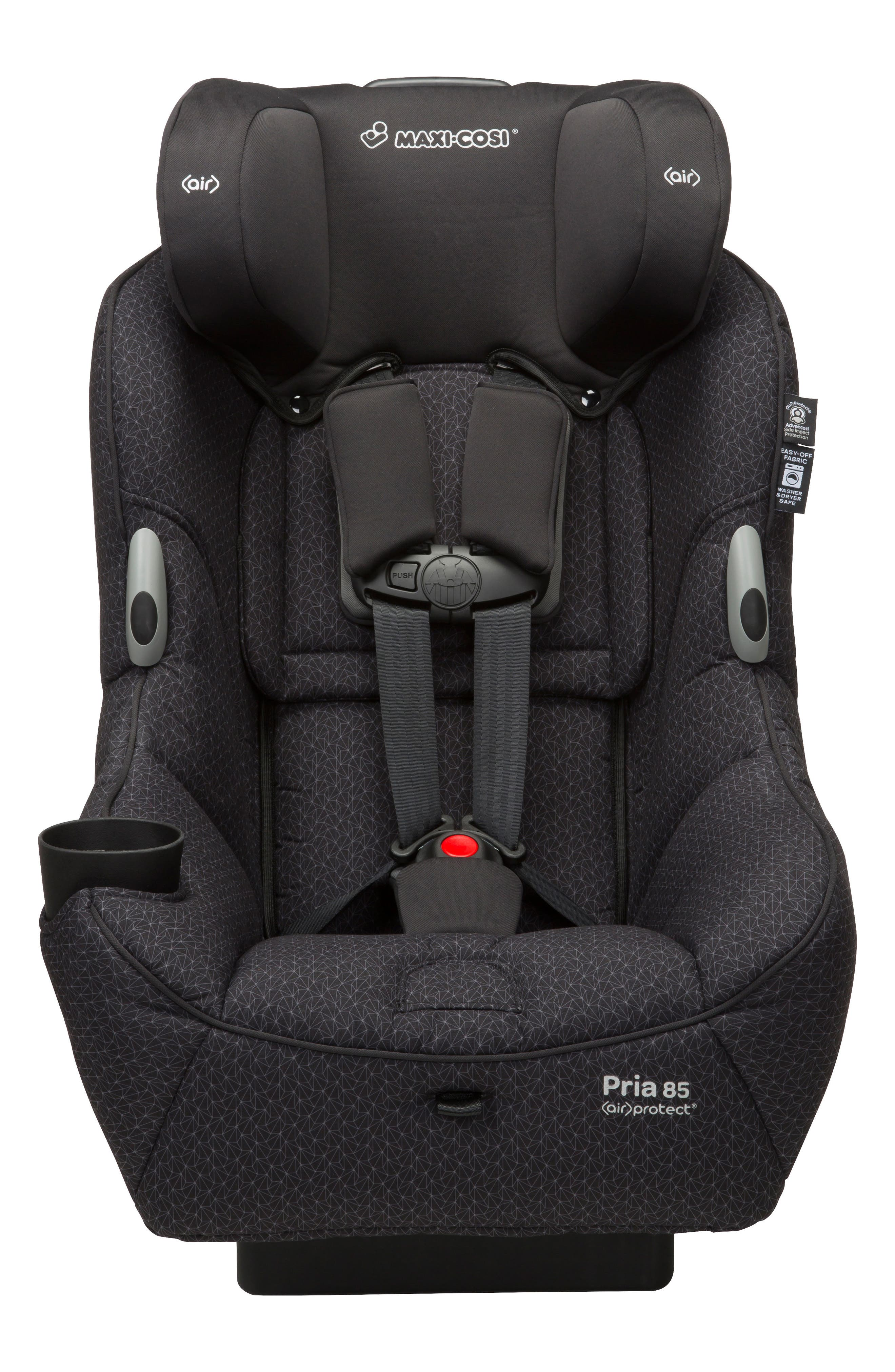 Pria<sup>™</sup> 85 Black Crystal Special Edition Car Seat,                             Alternate thumbnail 6, color,