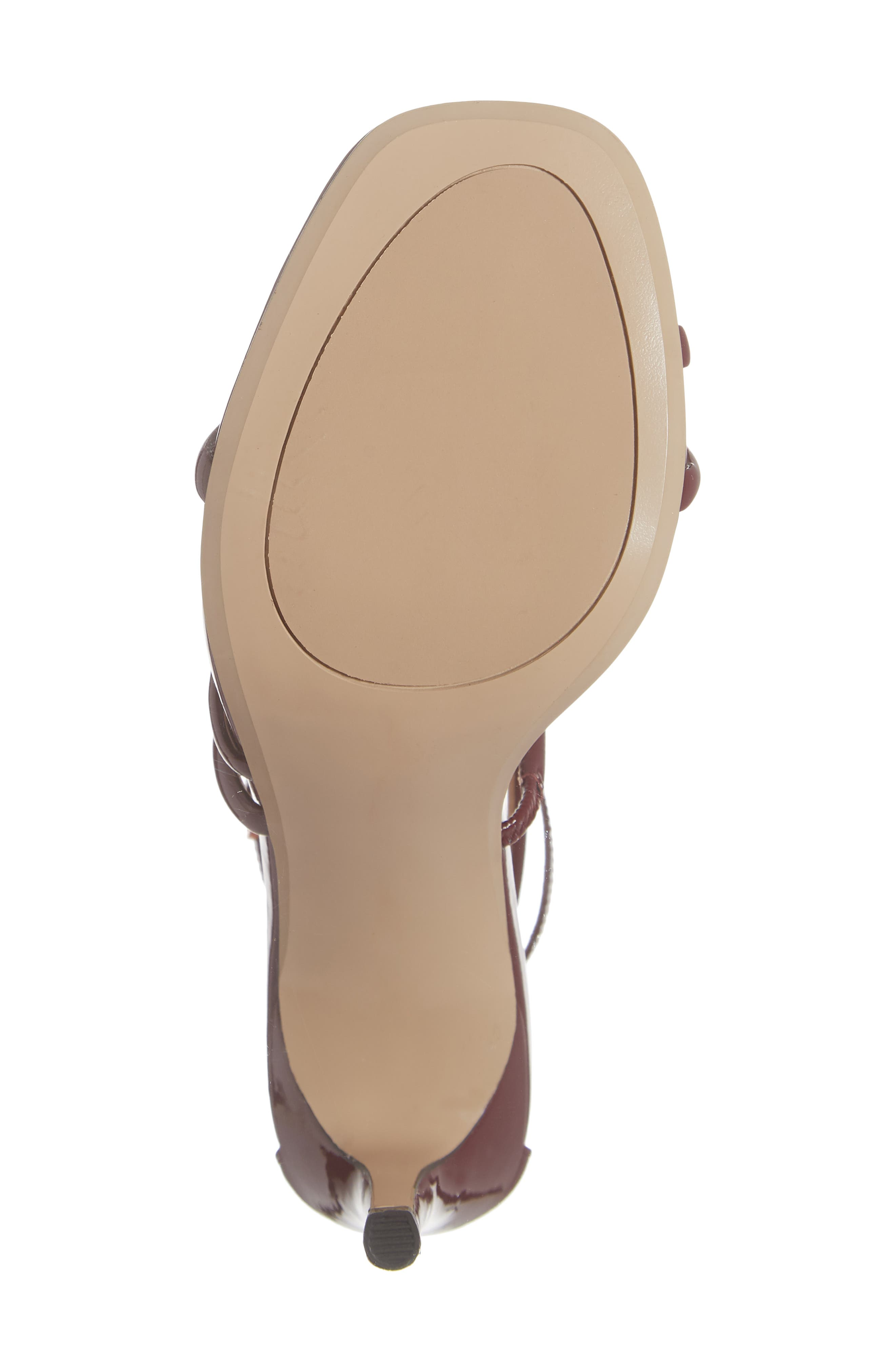 x Atlantic-Pacific Violetta Multi Strap Sandal,                             Alternate thumbnail 6, color,                             MERLOT PATENT