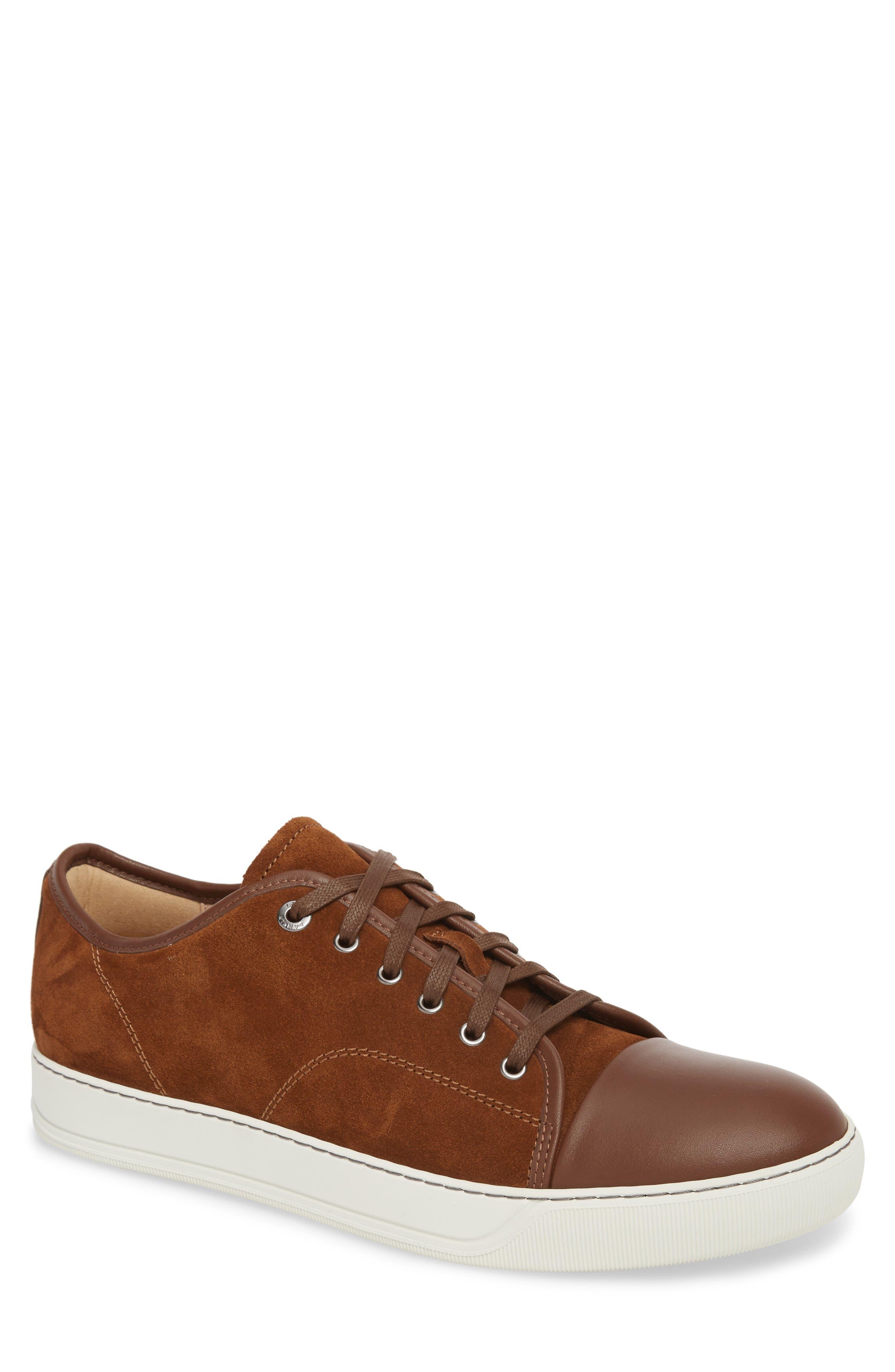 Low Top Sneaker,                             Main thumbnail 1, color,                             LIGHT BROWN