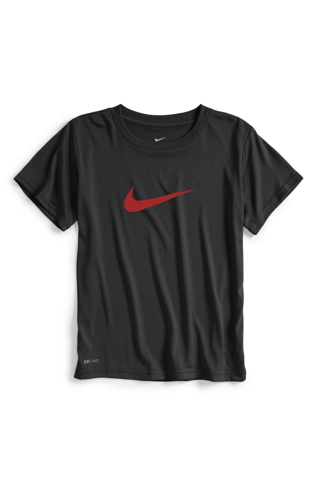 'Legend' Dri-FIT T-Shirt,                             Main thumbnail 1, color,                             007