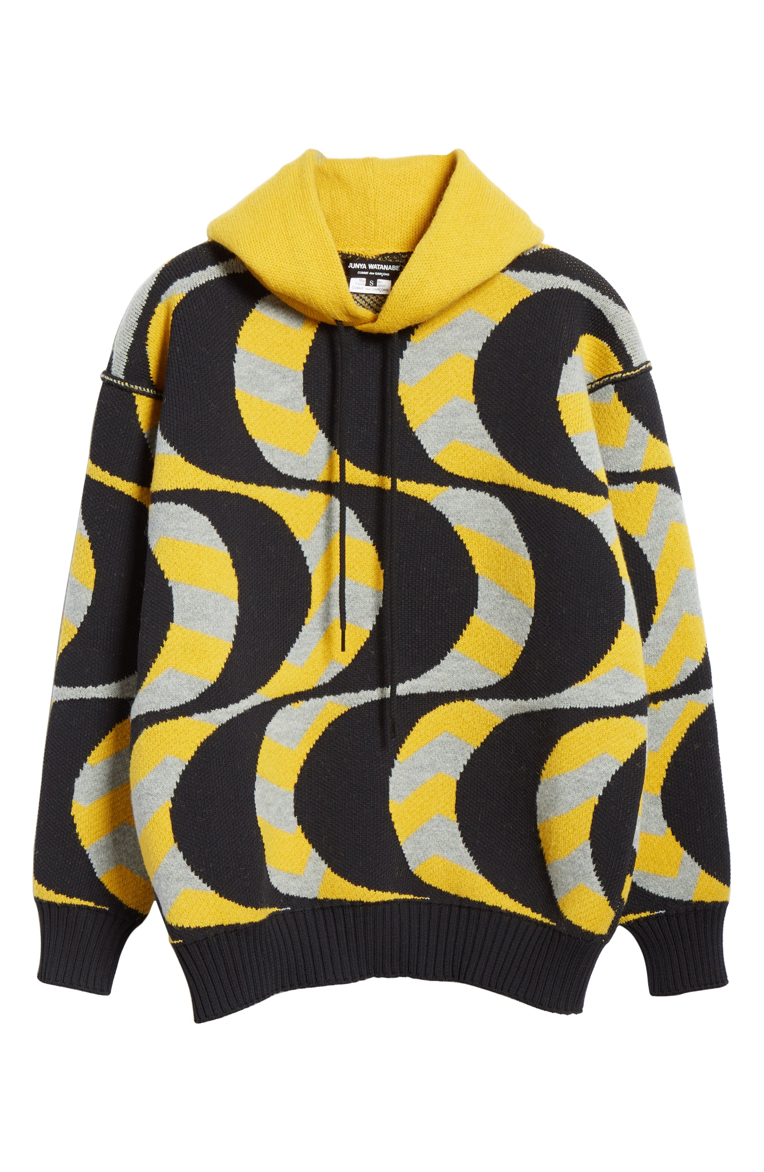 Swirl Print Oversized Hoodie,                             Alternate thumbnail 6, color,                             700