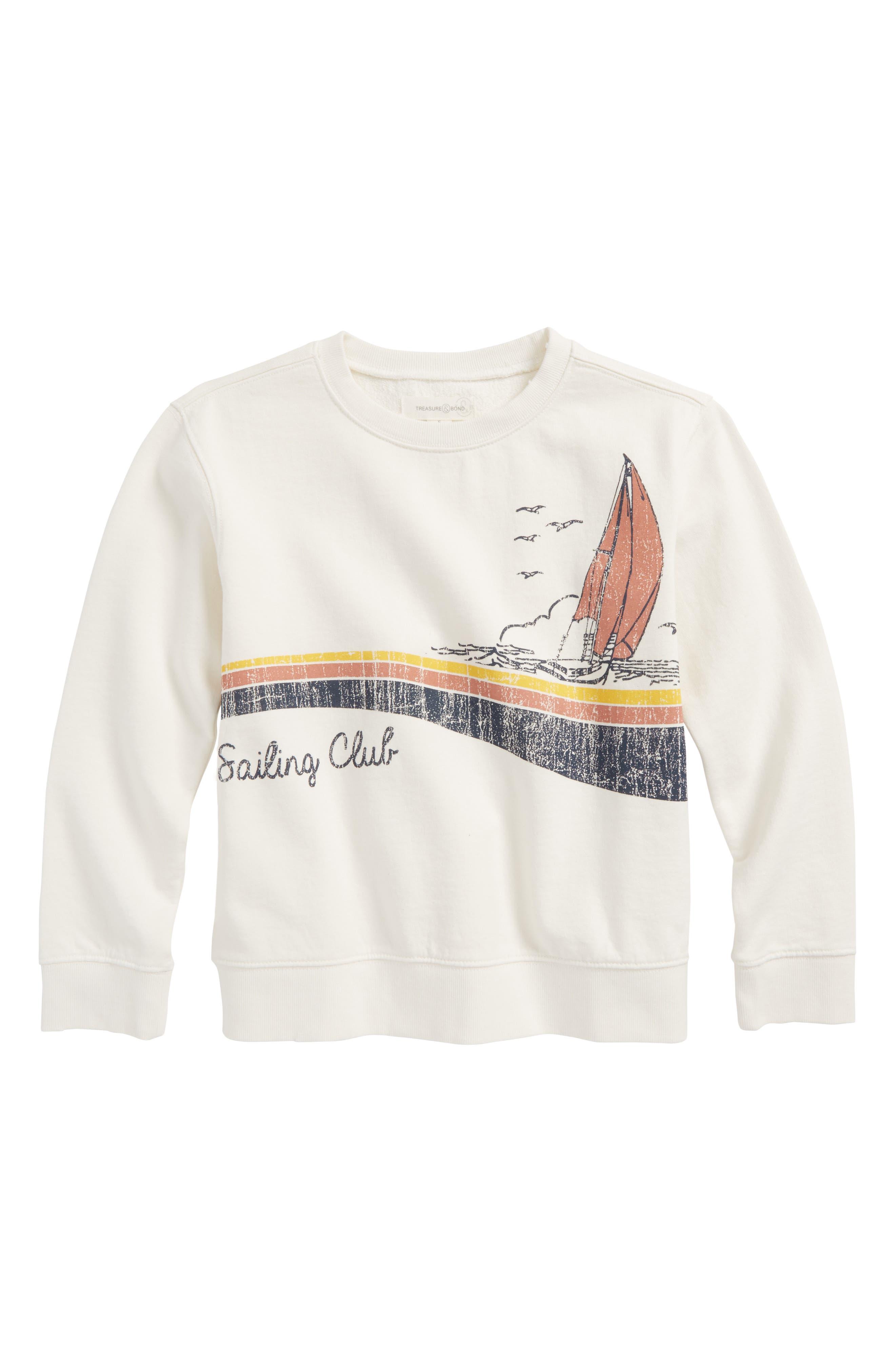Vintage Graphic Sweatshirt,                             Main thumbnail 1, color,                             900