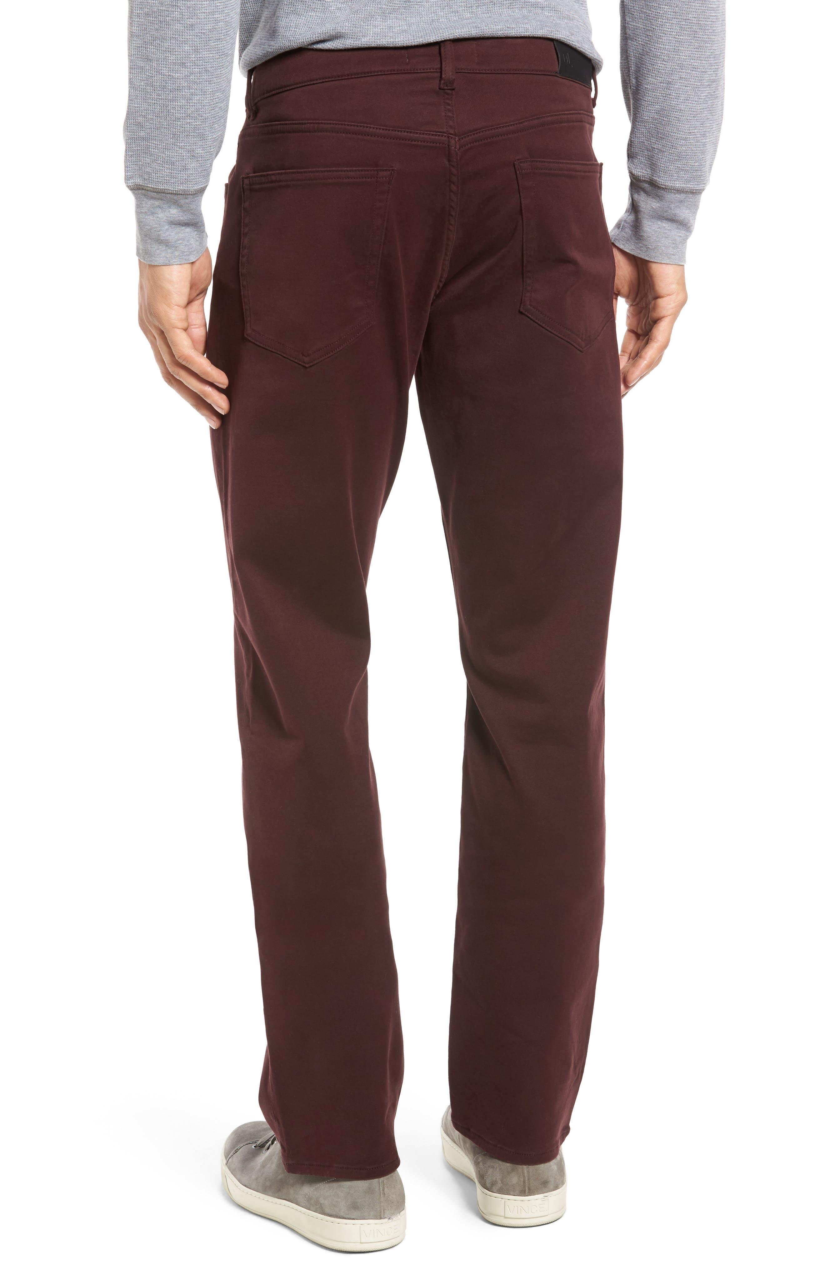 Russell Slim Fit Sateen Twill Pants,                             Alternate thumbnail 21, color,