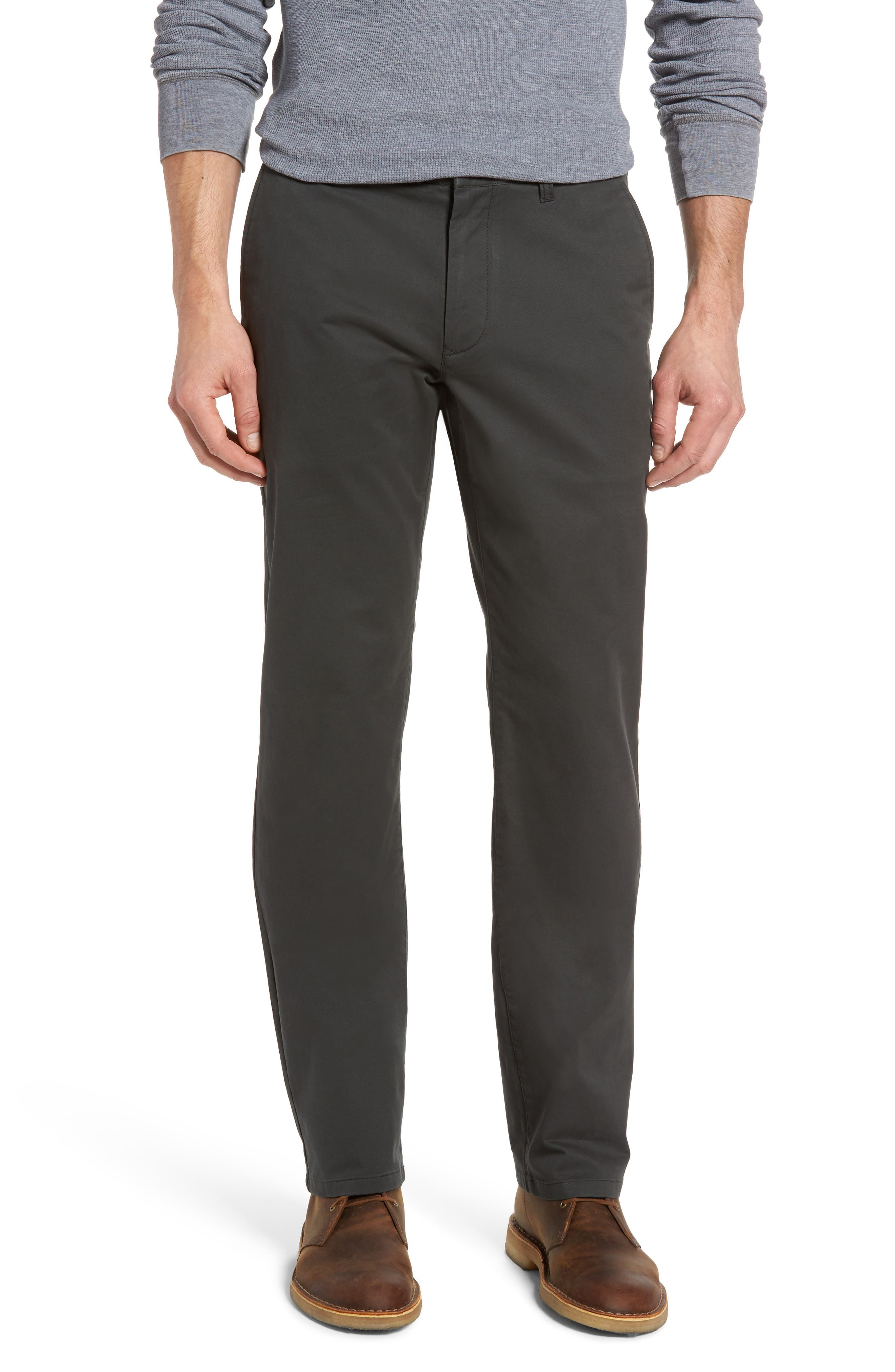 Straight Leg Stretch Washed Chinos,                             Main thumbnail 2, color,