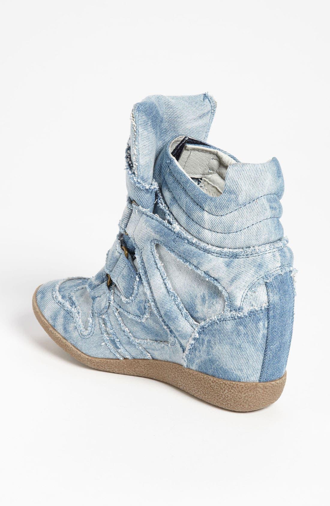 'Hilite-C' Wedge Sneaker,                             Alternate thumbnail 3, color,                             400