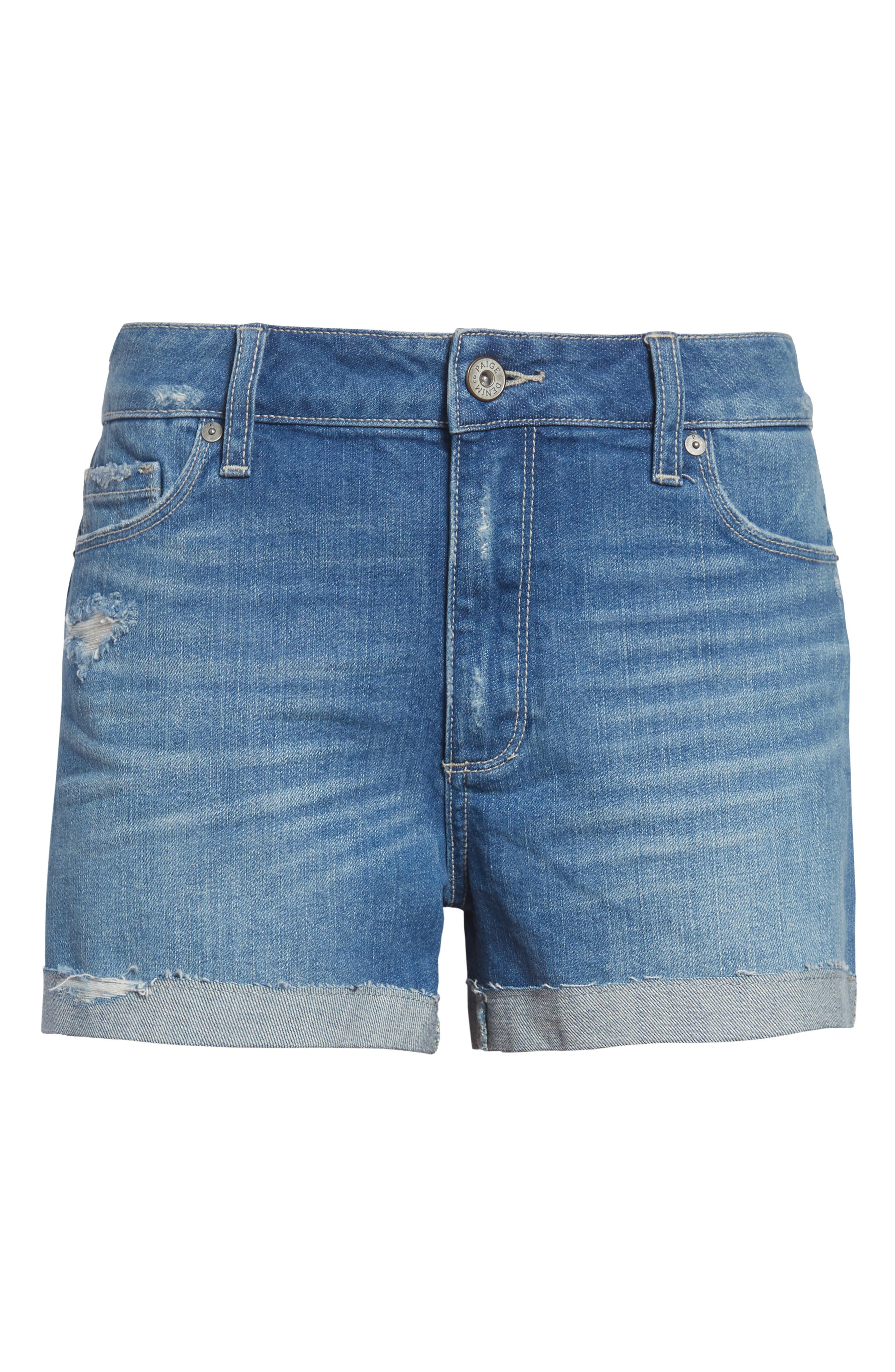 Jimmy Jimmy Cutoff Denim Shorts,                             Alternate thumbnail 3, color,                             FINNICK DESTRUCTED