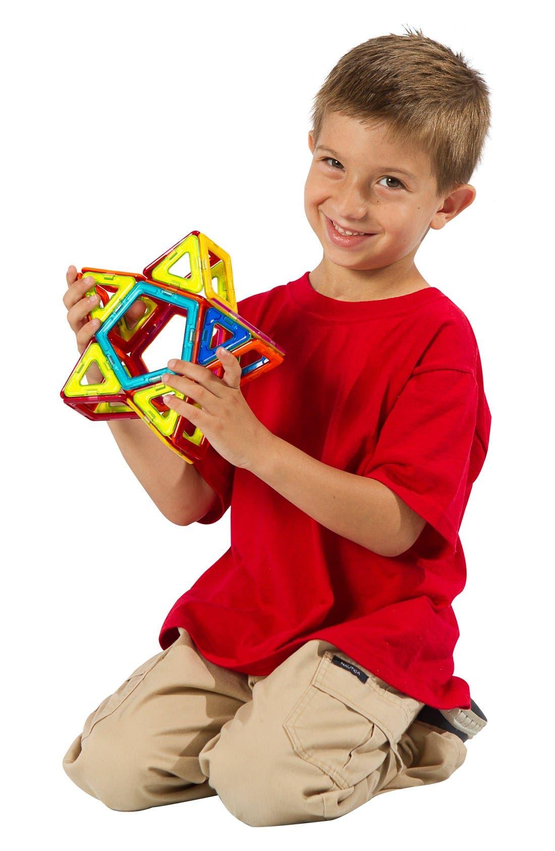 'Rainbow' Magnetic 3D Construction Set,                             Alternate thumbnail 3, color,