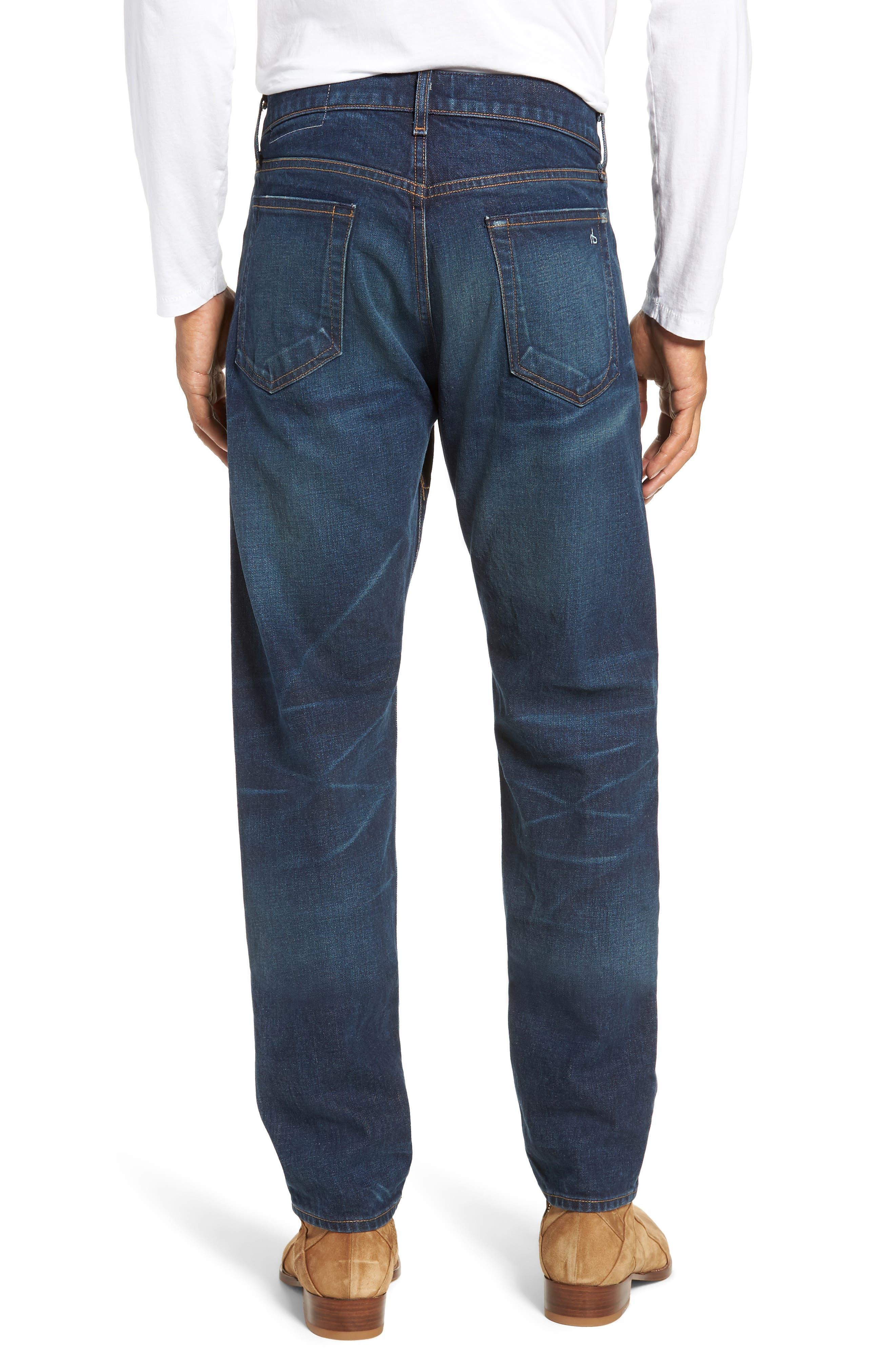 Fit 2 Slim Fit Jeans,                             Alternate thumbnail 2, color,                             WORN ACE