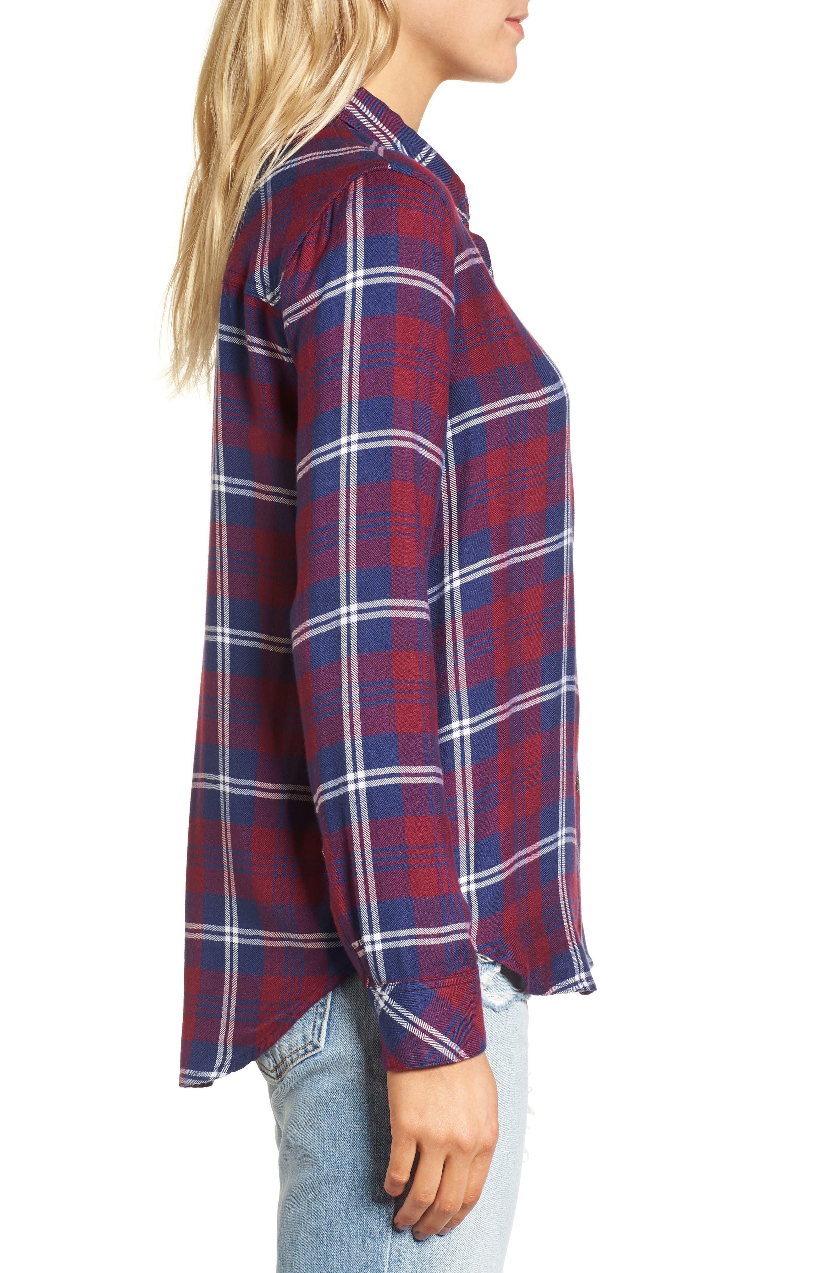 Hunter Plaid Shirt,                             Alternate thumbnail 318, color,