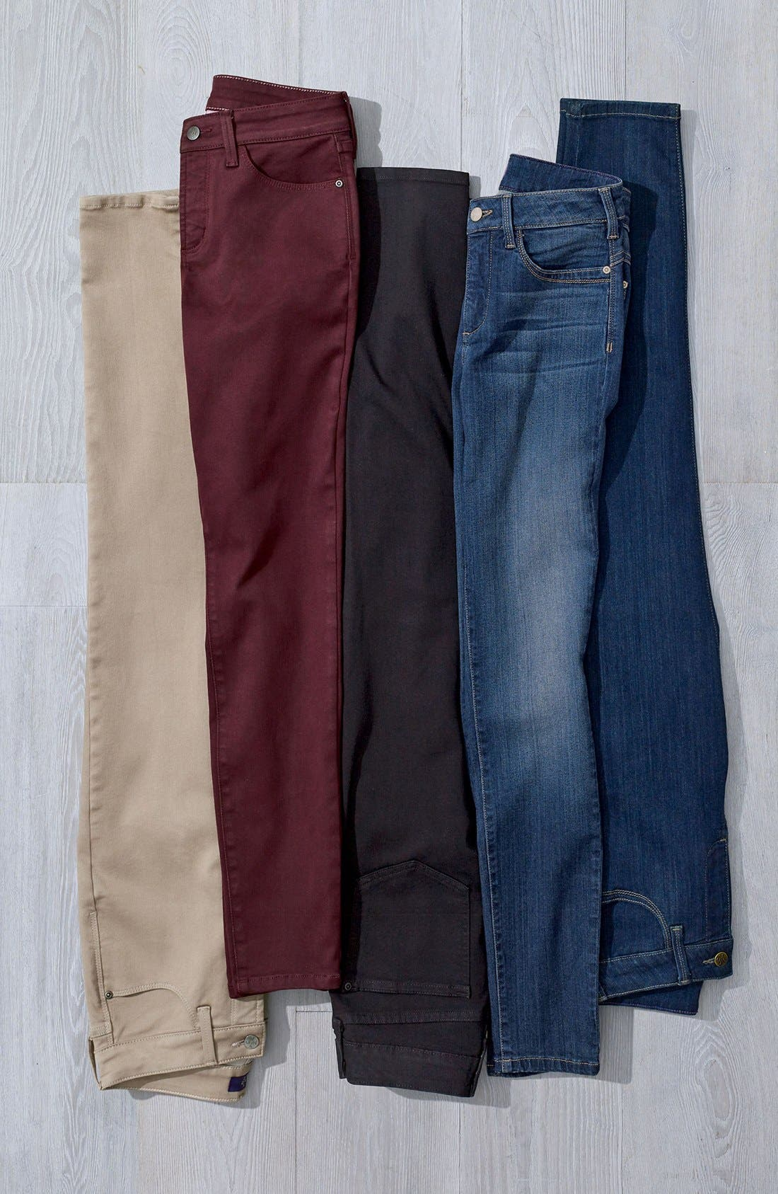 'Ami' Stretch Skinny Jeans,                             Alternate thumbnail 4, color,                             464