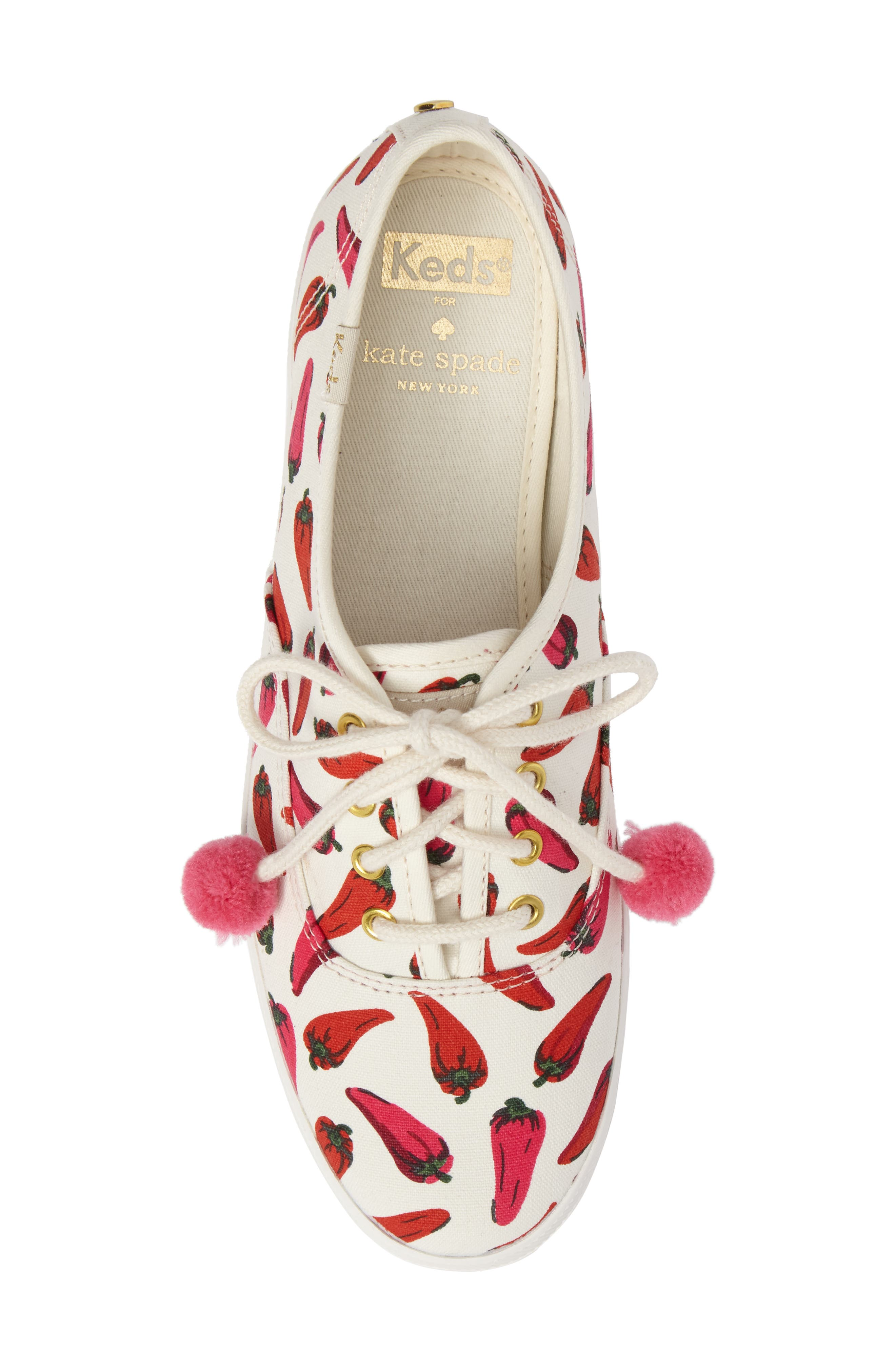 Keds<sup>®</sup> x kate spade new york champion sneaker,                             Alternate thumbnail 20, color,