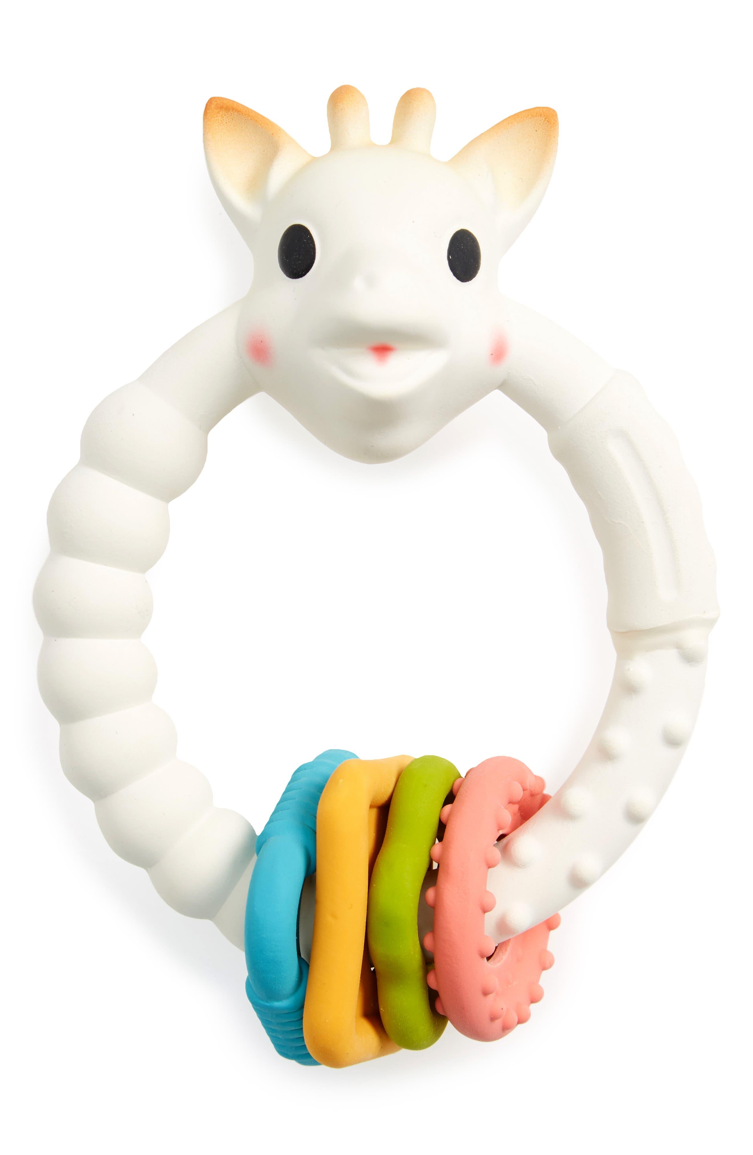 Colo'rings Teether,                             Main thumbnail 1, color,                             CREAM MULTI