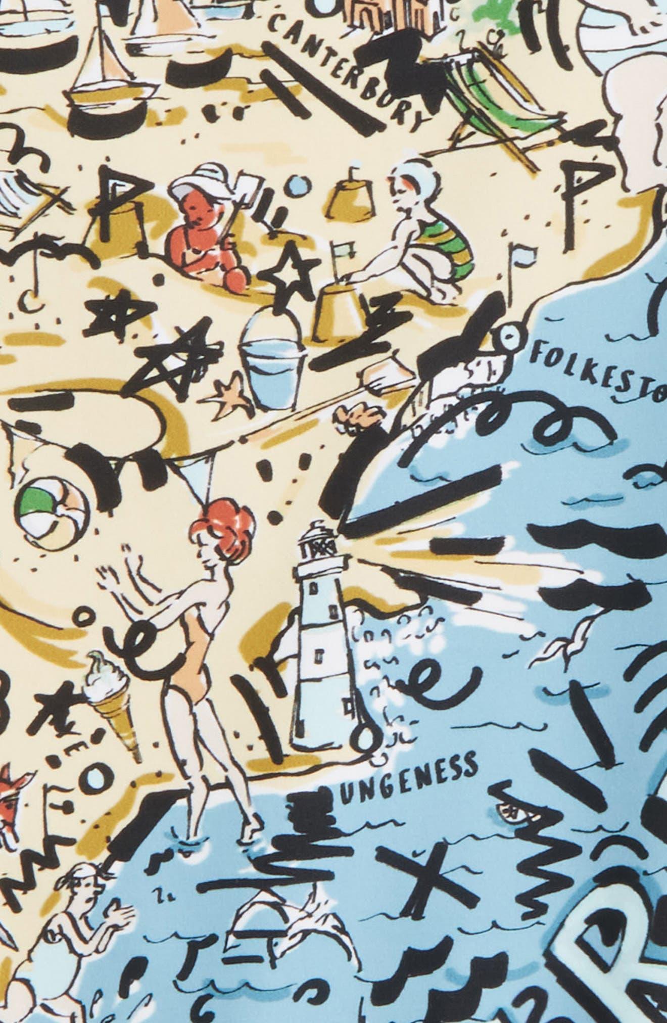 Sandie Beach One-Piece Swimsuit,                             Alternate thumbnail 2, color,                             251