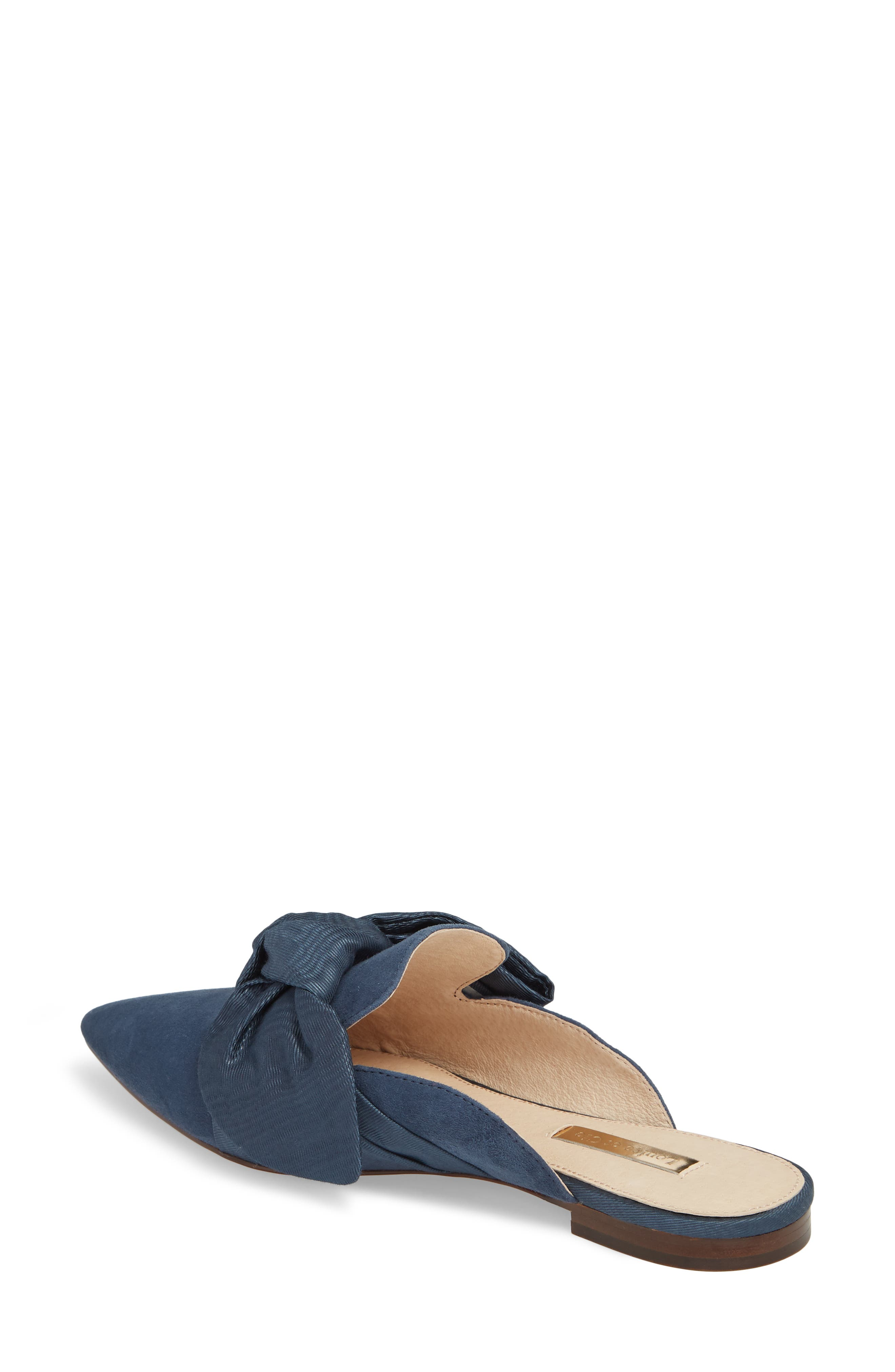 Cela Bow Mule,                             Alternate thumbnail 2, color,                             RHAPSODY SUEDE