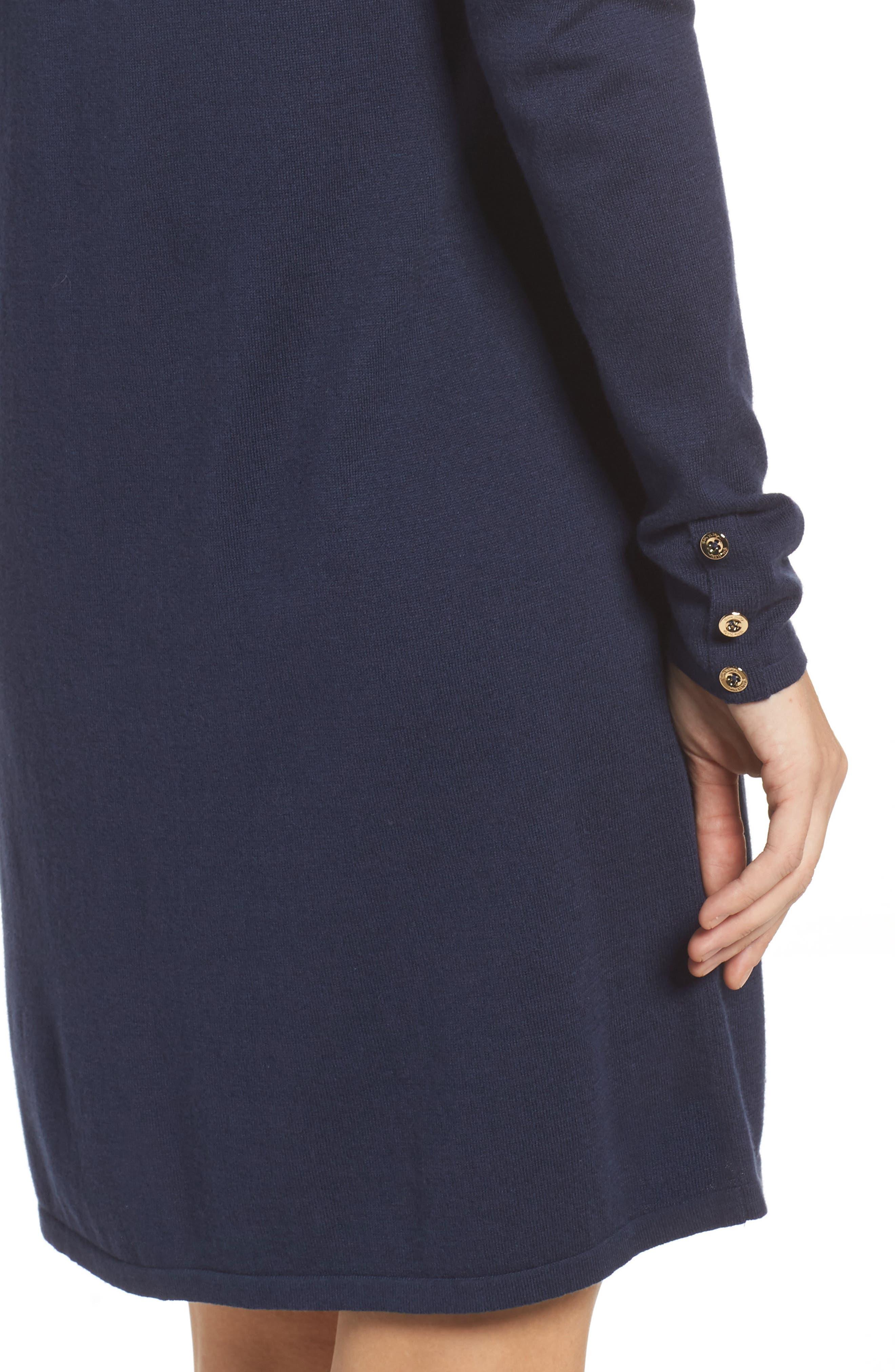 Faire Cold Shoulder Dress,                             Alternate thumbnail 4, color,                             408