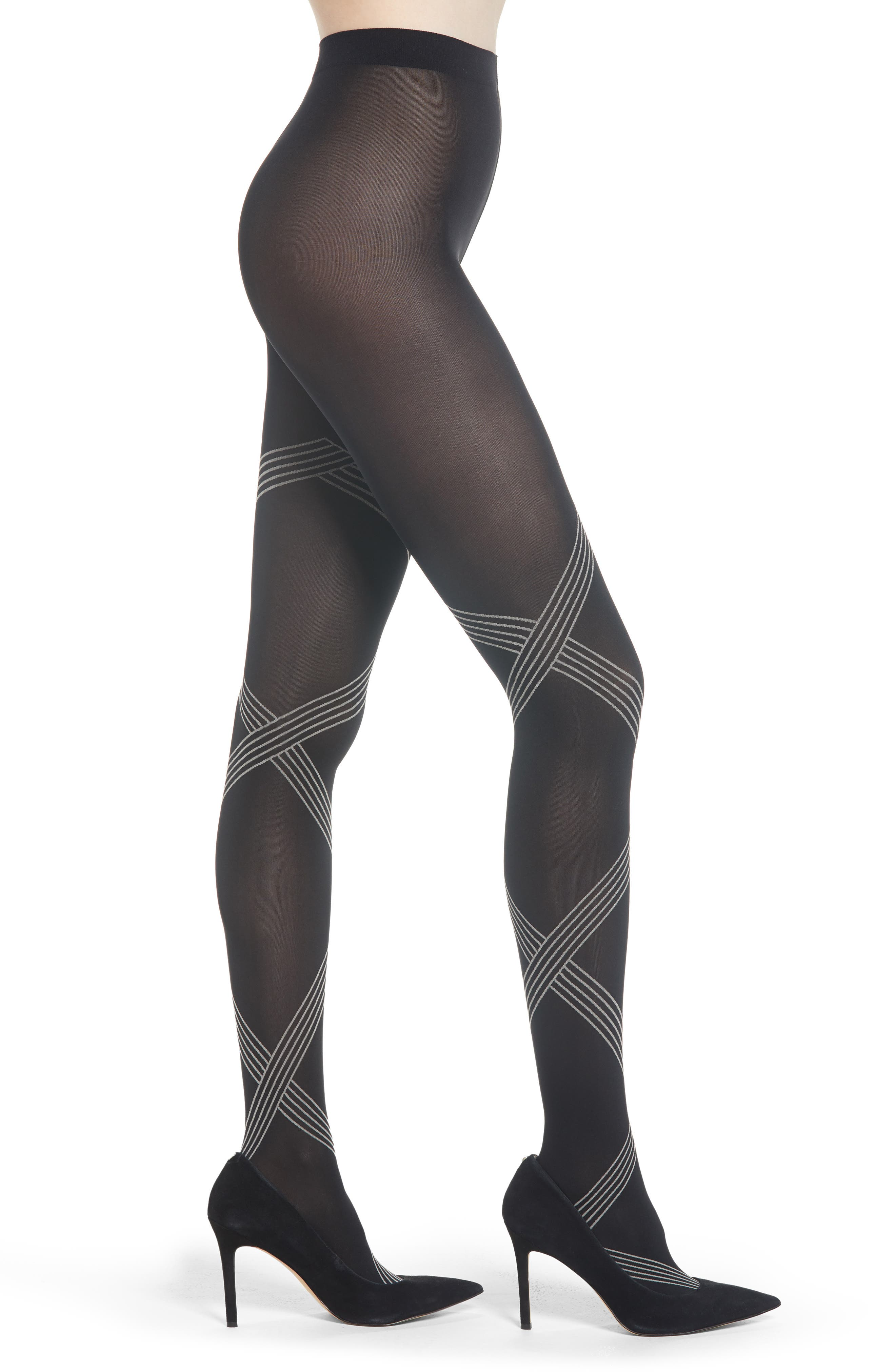WOLFORD Cecilia Tights, Main, color, 001