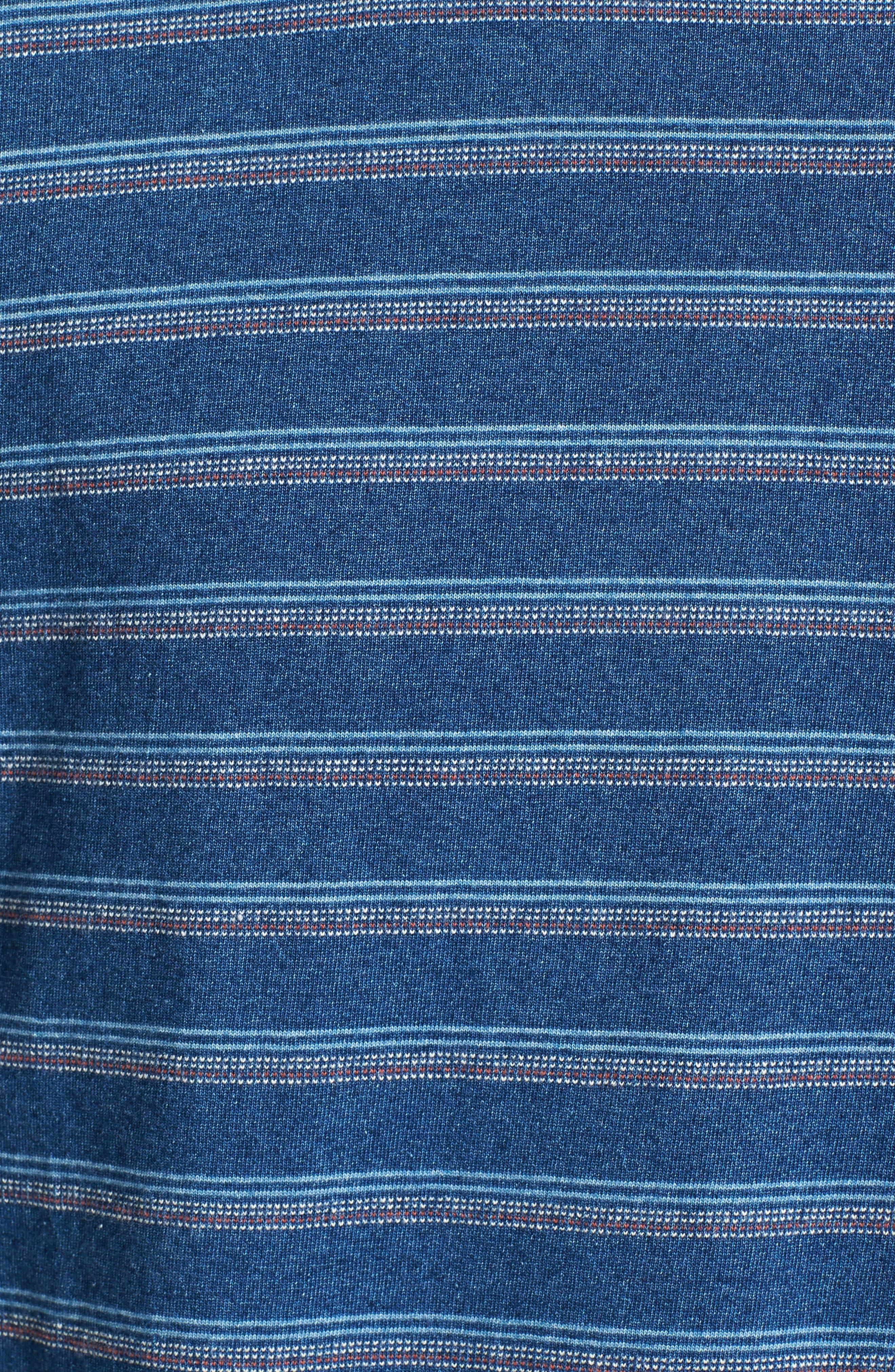 Stripe T-Shirt,                             Alternate thumbnail 5, color,                             405