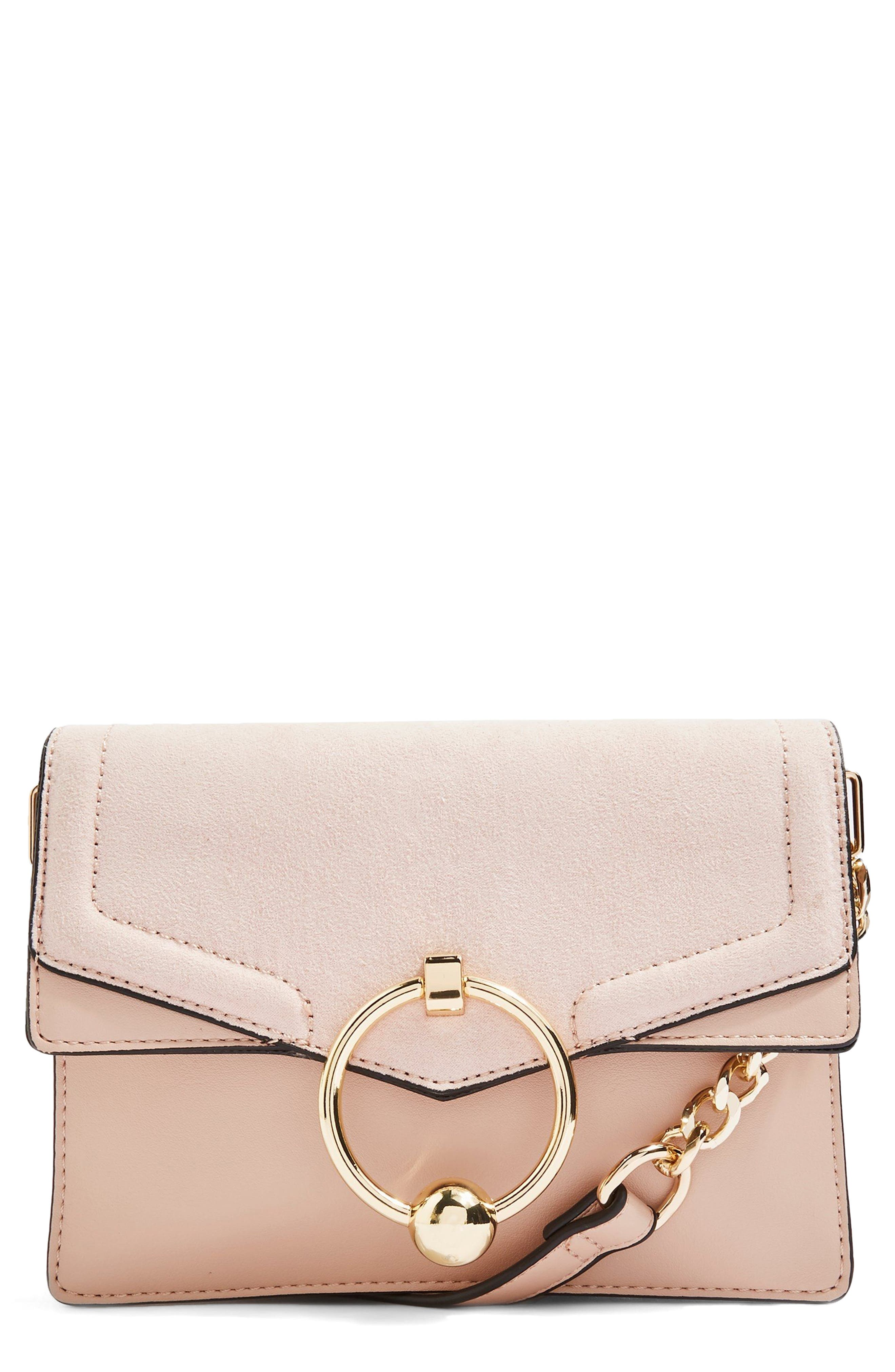 Seline Faux Leather Crossbody Bag,                             Main thumbnail 1, color,                             250