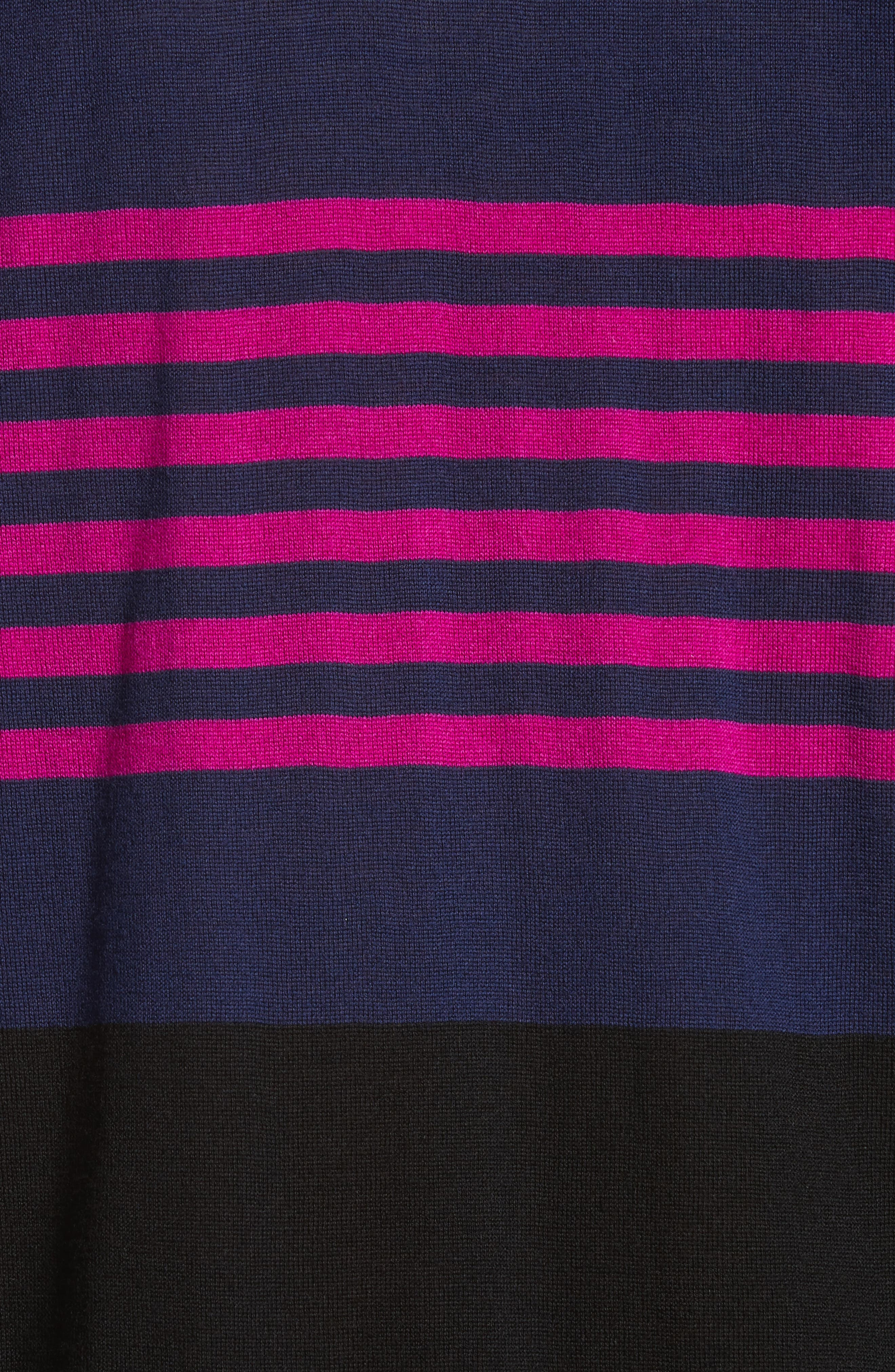 Stripe Merino Wool Crewneck Sweater,                             Alternate thumbnail 9, color,