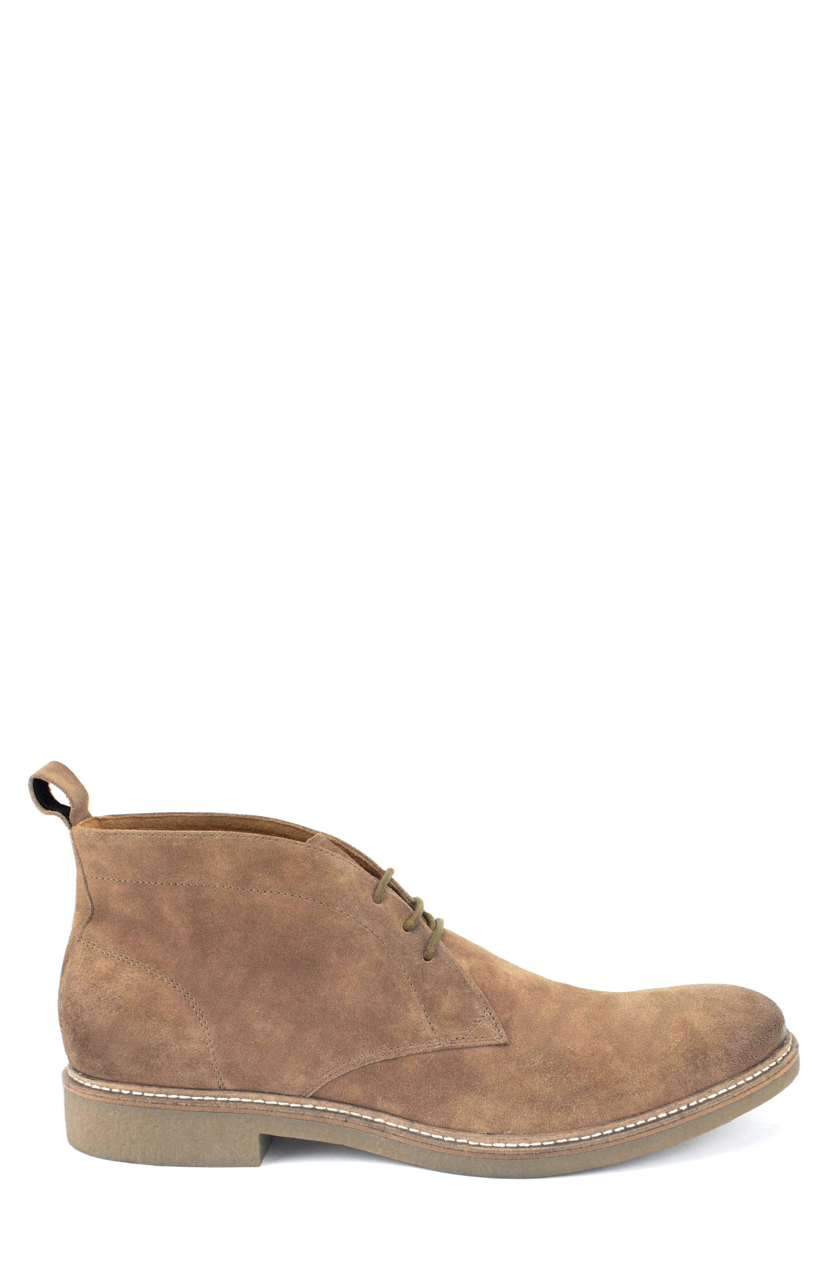 Albert Chukka Boot,                             Alternate thumbnail 3, color,                             TAN SUEDE