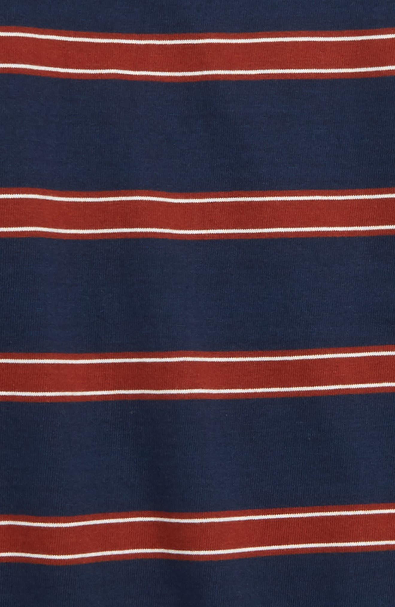 Watson Stripe Shirt,                             Alternate thumbnail 2, color,                             DRESS BLUES