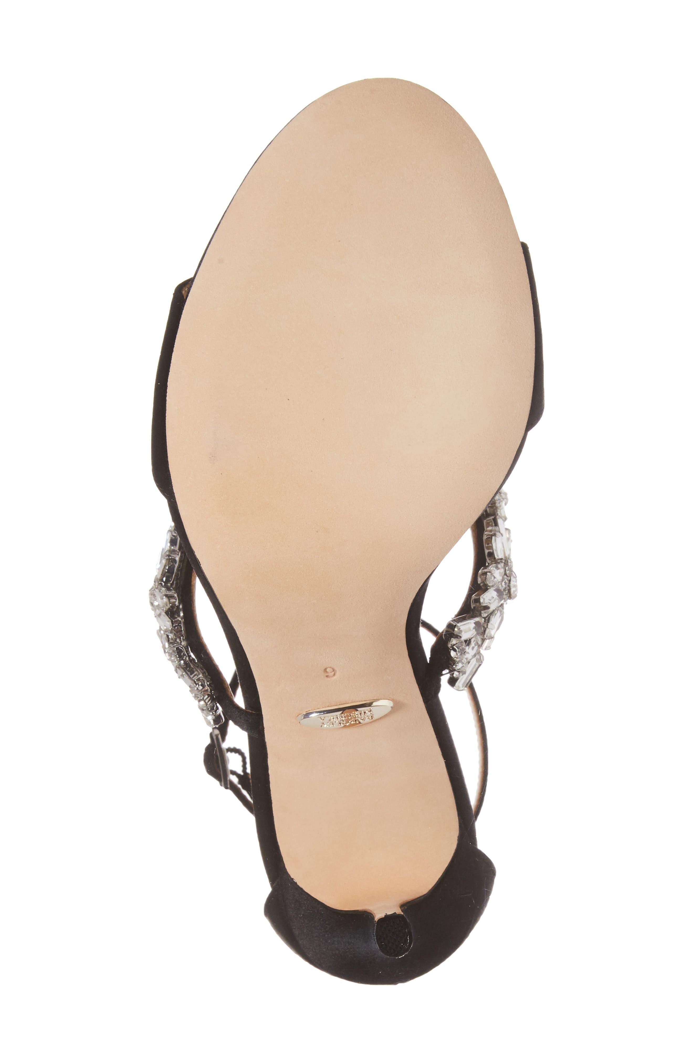 Munroe Embellished Sandal,                             Alternate thumbnail 6, color,                             015
