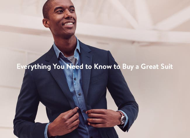 Everything you need to know to buy a great suit.