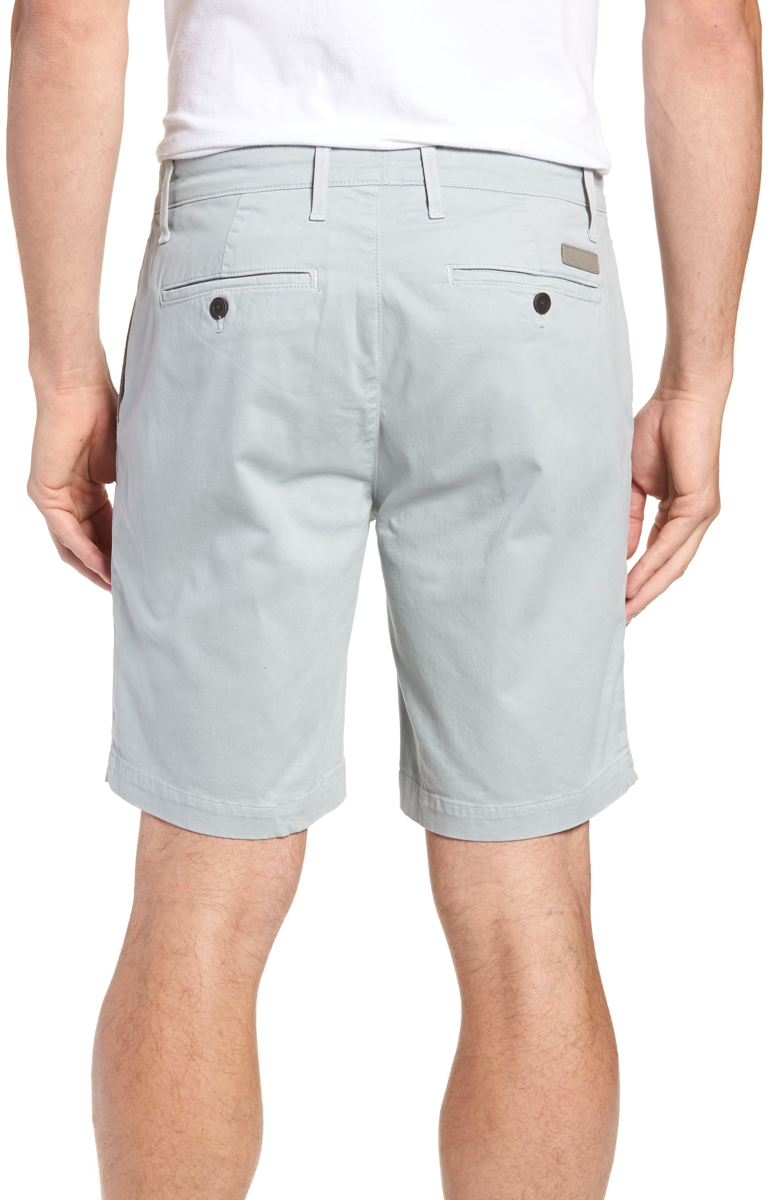 Wanderer Modern Slim Fit Shorts,                             Alternate thumbnail 2, color,                             MORNING MIST