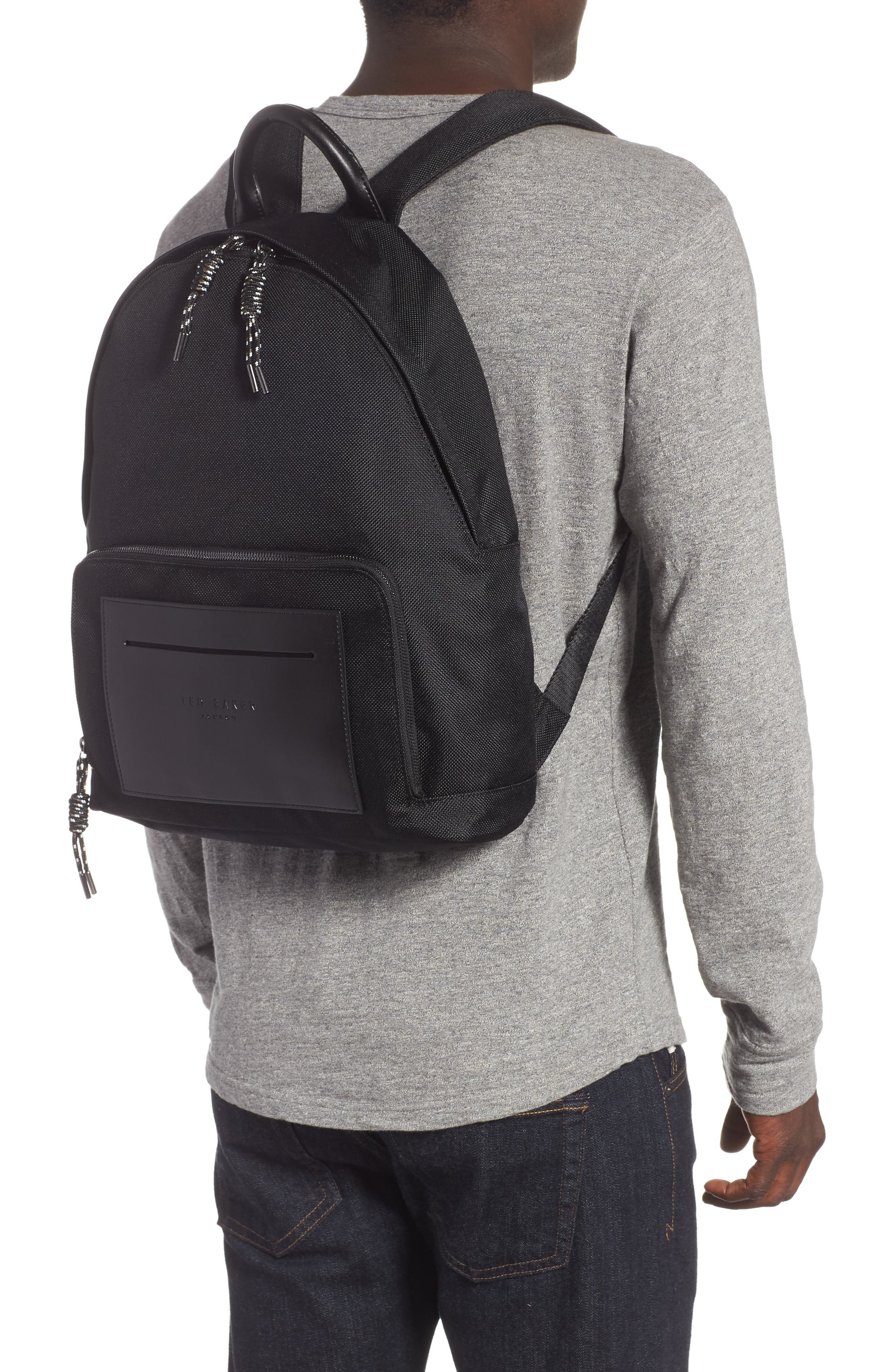Filer Backpack,                             Alternate thumbnail 2, color,                             BLACK