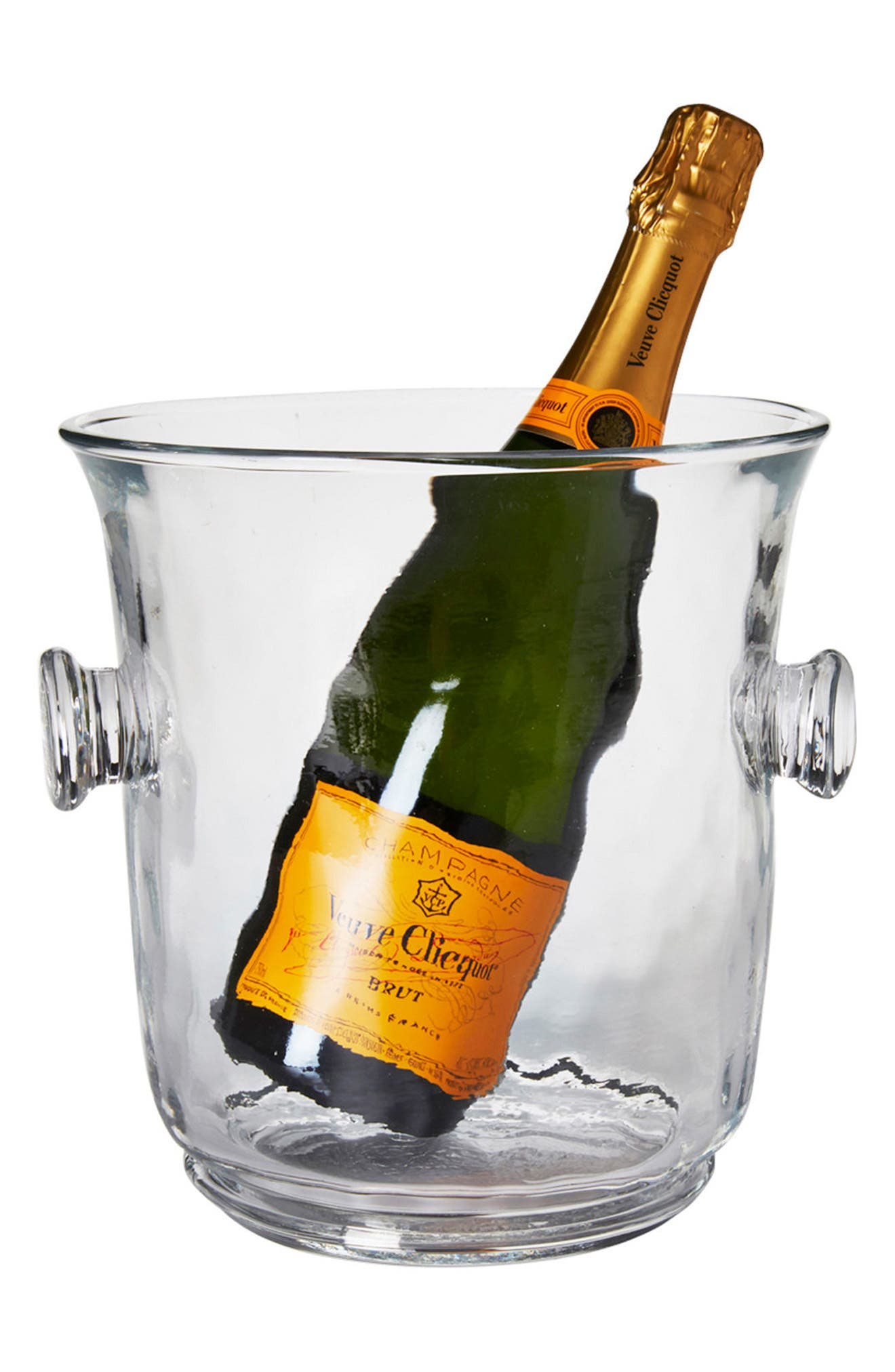 Carine Champagne Bucket,                             Alternate thumbnail 2, color,                             CLEAR