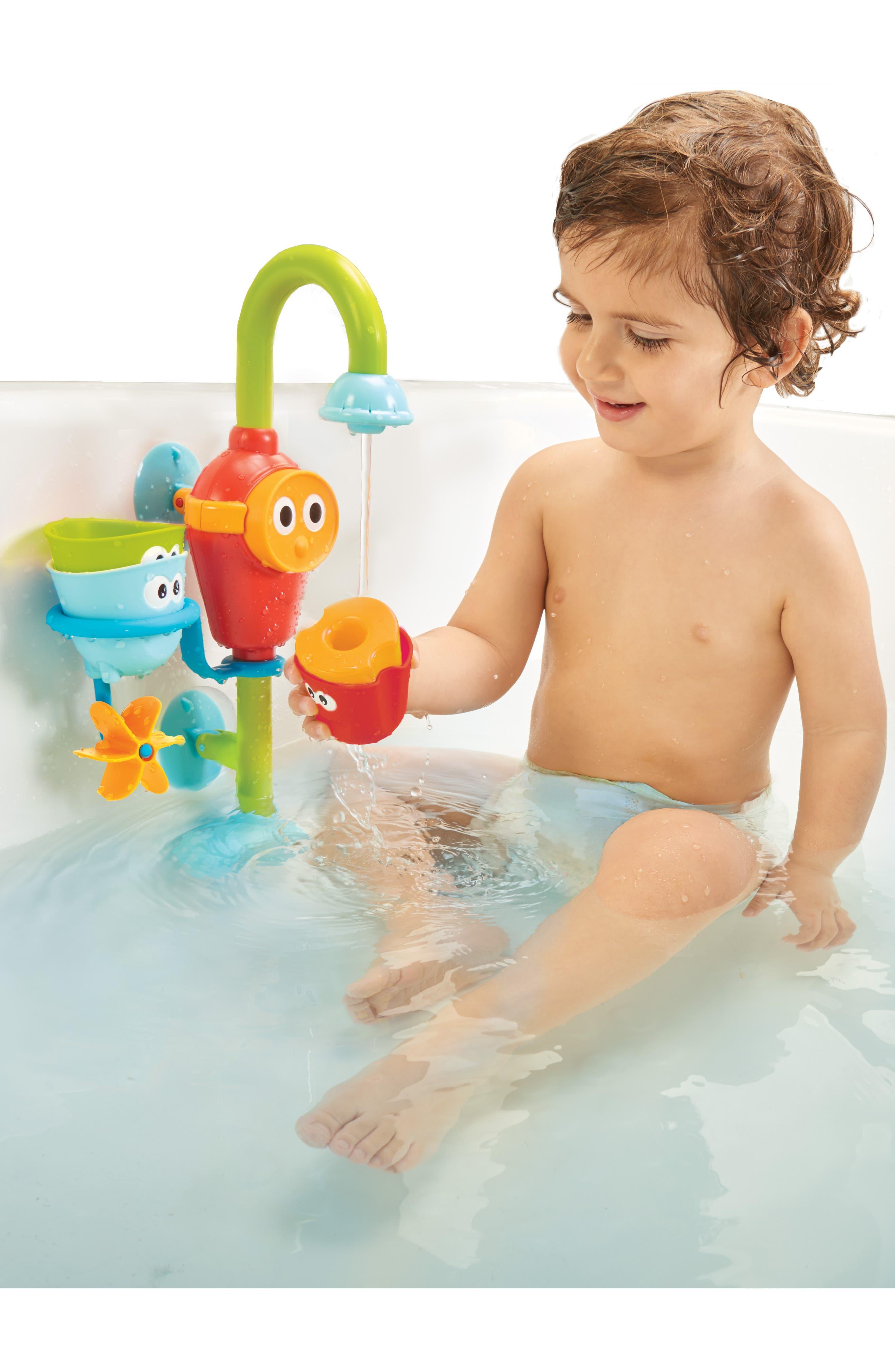 Flow 'N' Fill Spout Bath Toy,                             Alternate thumbnail 8, color,                             GREEN