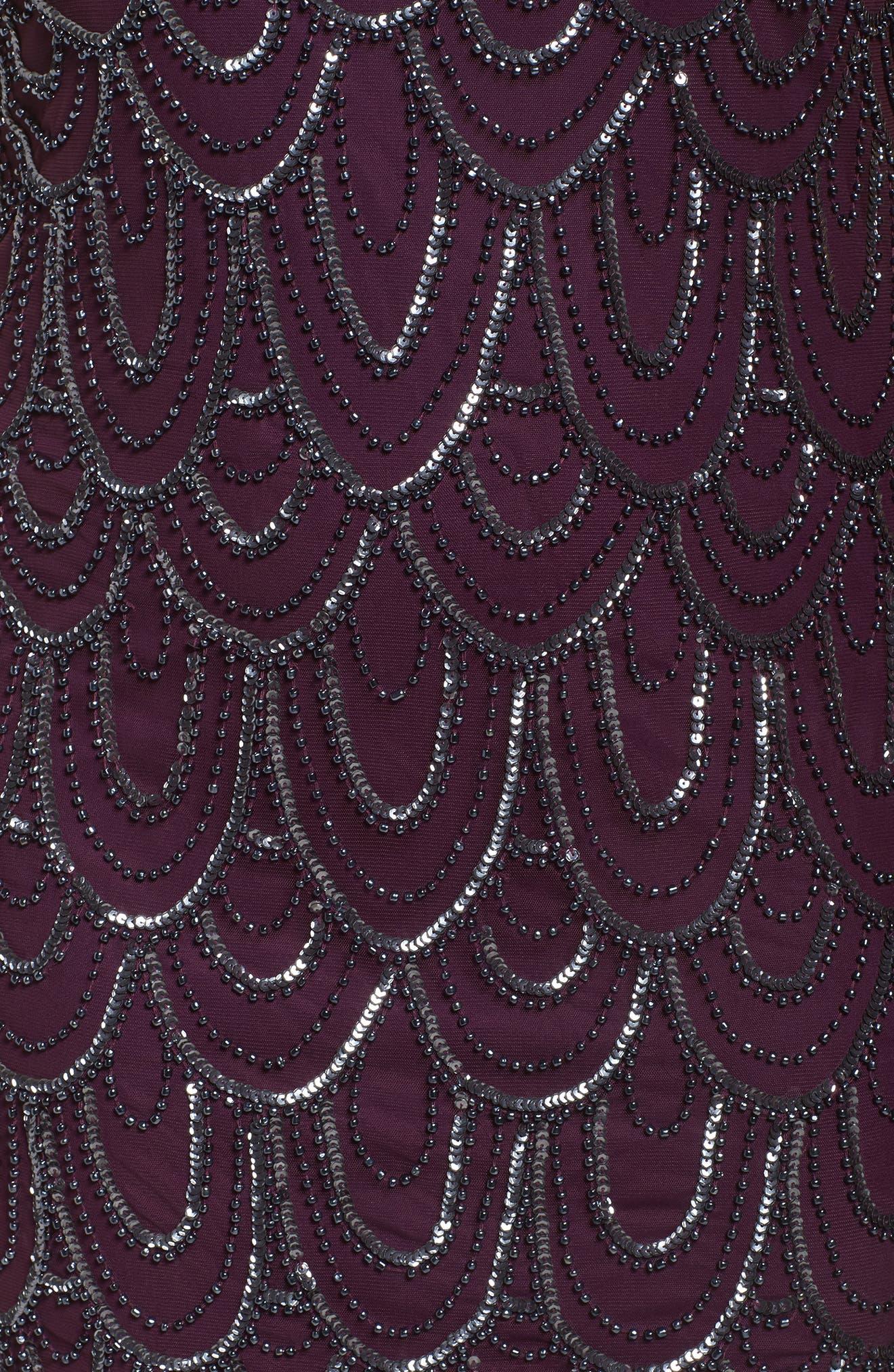 Beaded Sheath Dress,                             Alternate thumbnail 57, color,