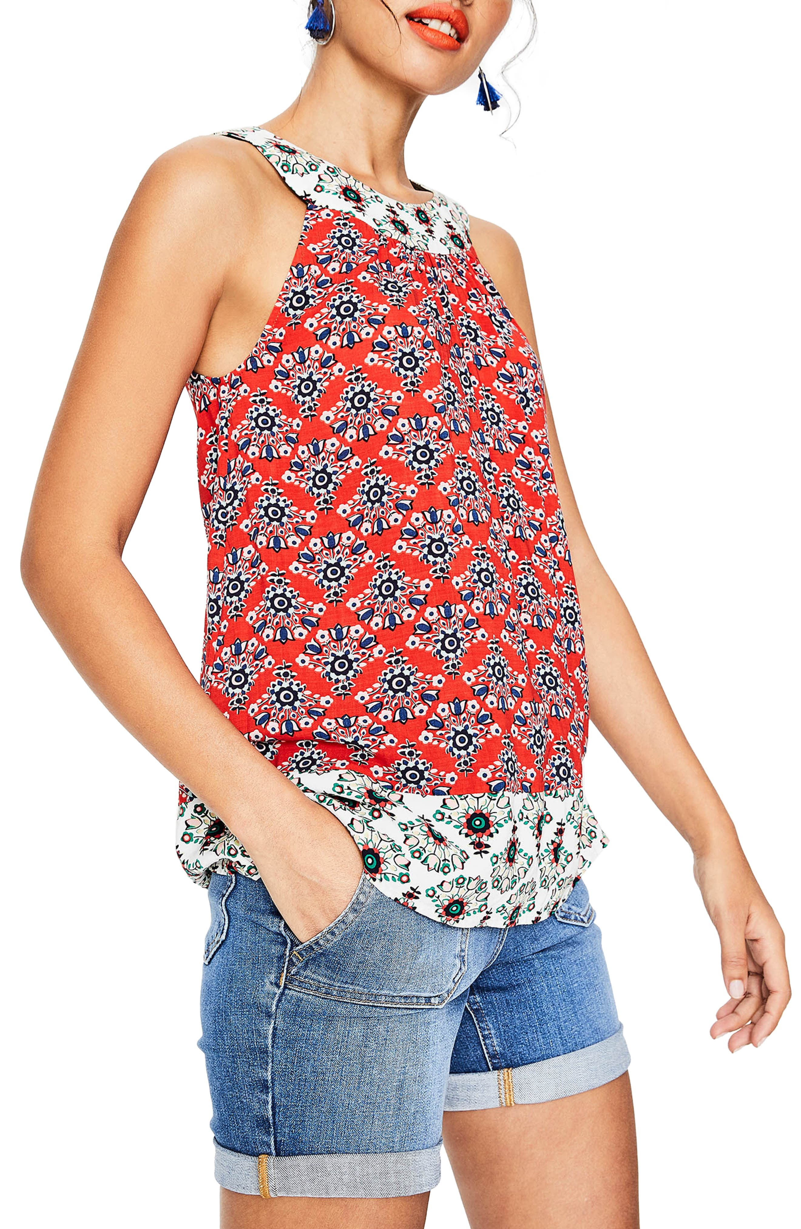 Print Mix Swing Top,                         Main,                         color, 601