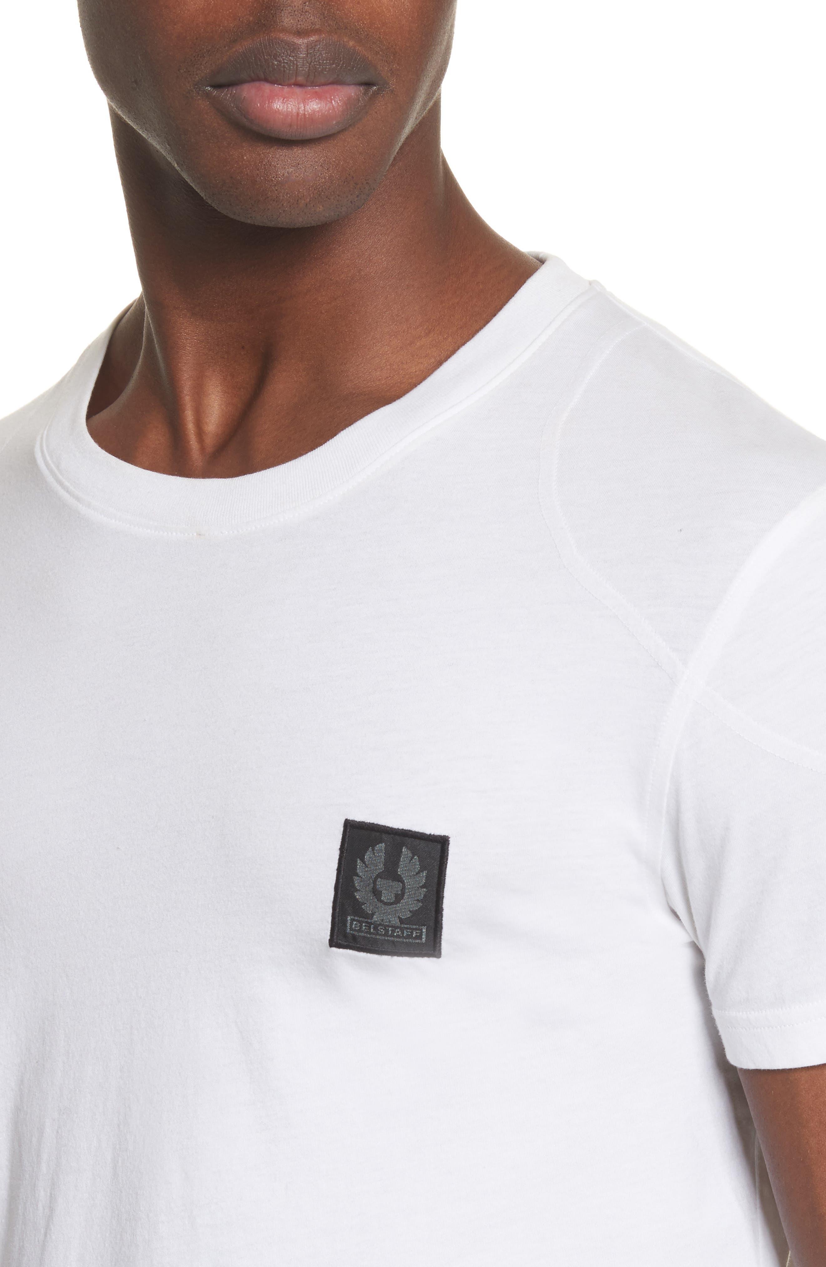 Throwley Logo T-Shirt,                             Alternate thumbnail 4, color,                             WHITE