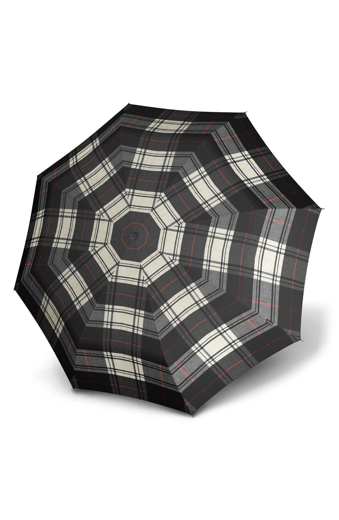 KNIRPS,                             'Duomatic' Umbrella,                             Main thumbnail 1, color,                             001