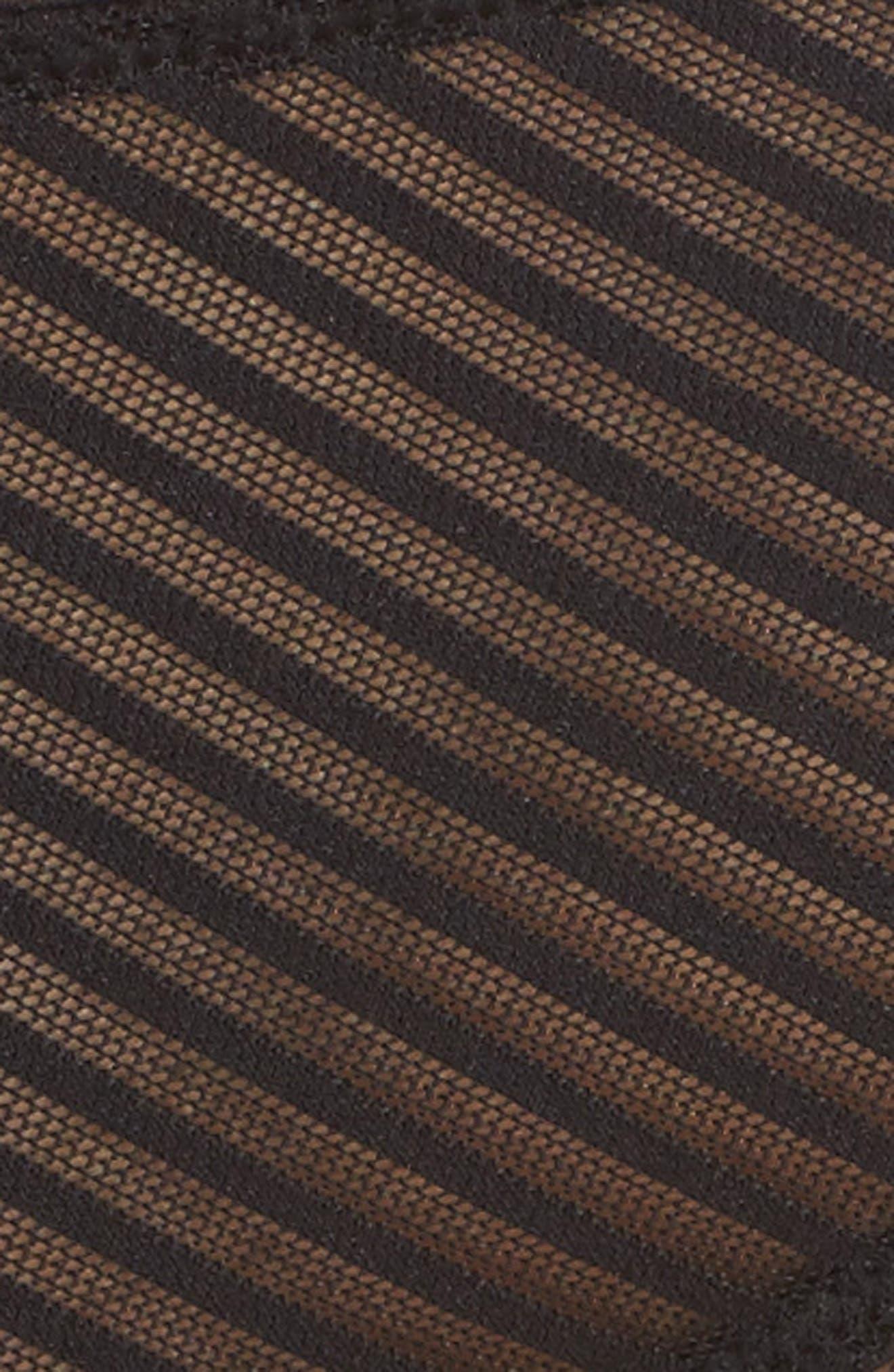 Shiny Stripe Hipster Panties,                             Alternate thumbnail 5, color,                             001