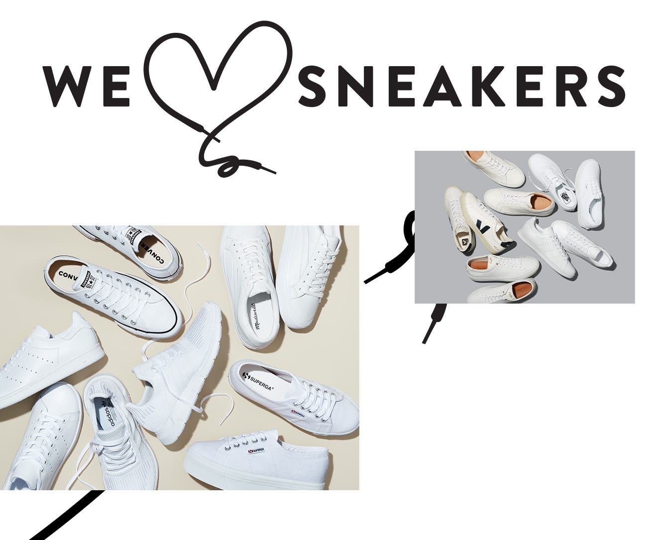 White hot: shop men's and women's white sneakers