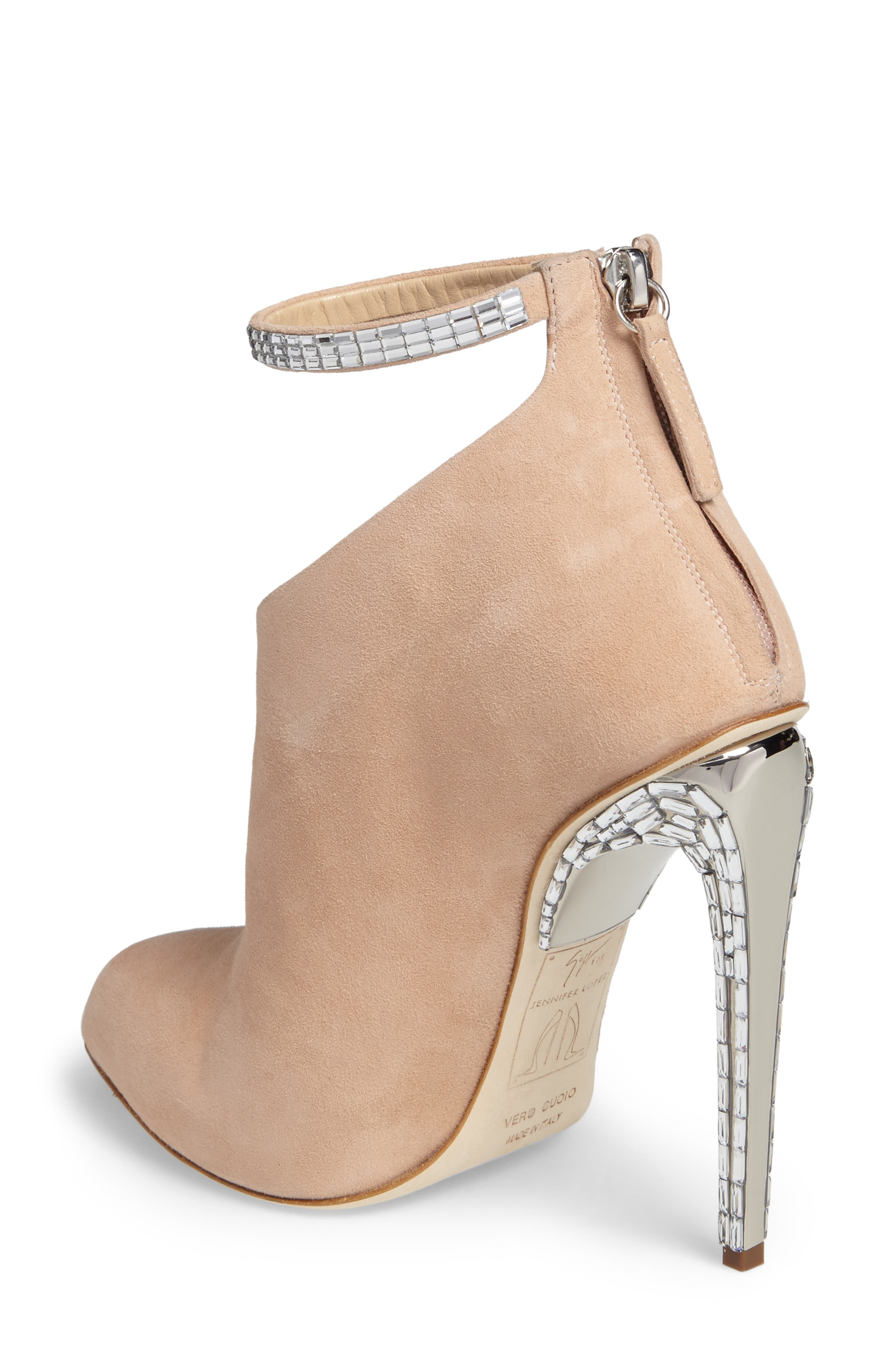 Giuseppe for Jennifer Lopez Ankle Strap Bootie,                             Alternate thumbnail 2, color,                             250
