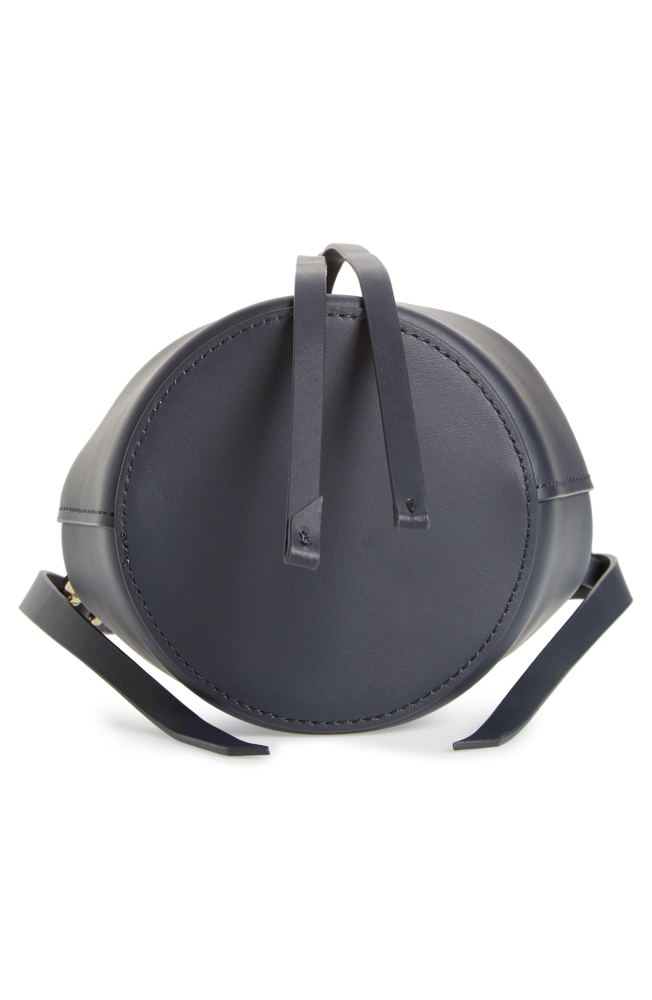 Mini Belay Calfskin Leather Drawstring Bag,                             Alternate thumbnail 17, color,