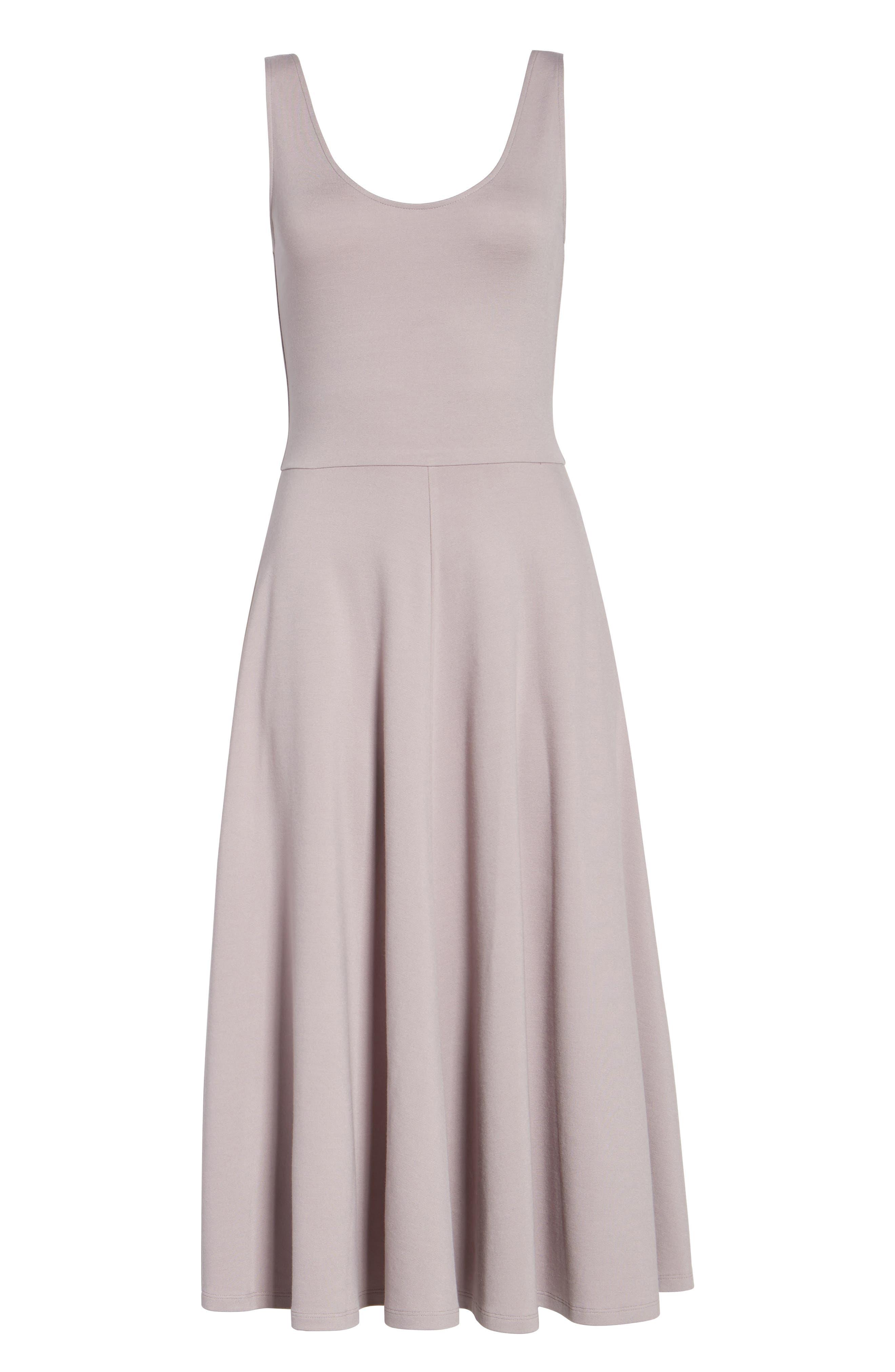 Stretch Knit Midi Dress,                             Alternate thumbnail 61, color,