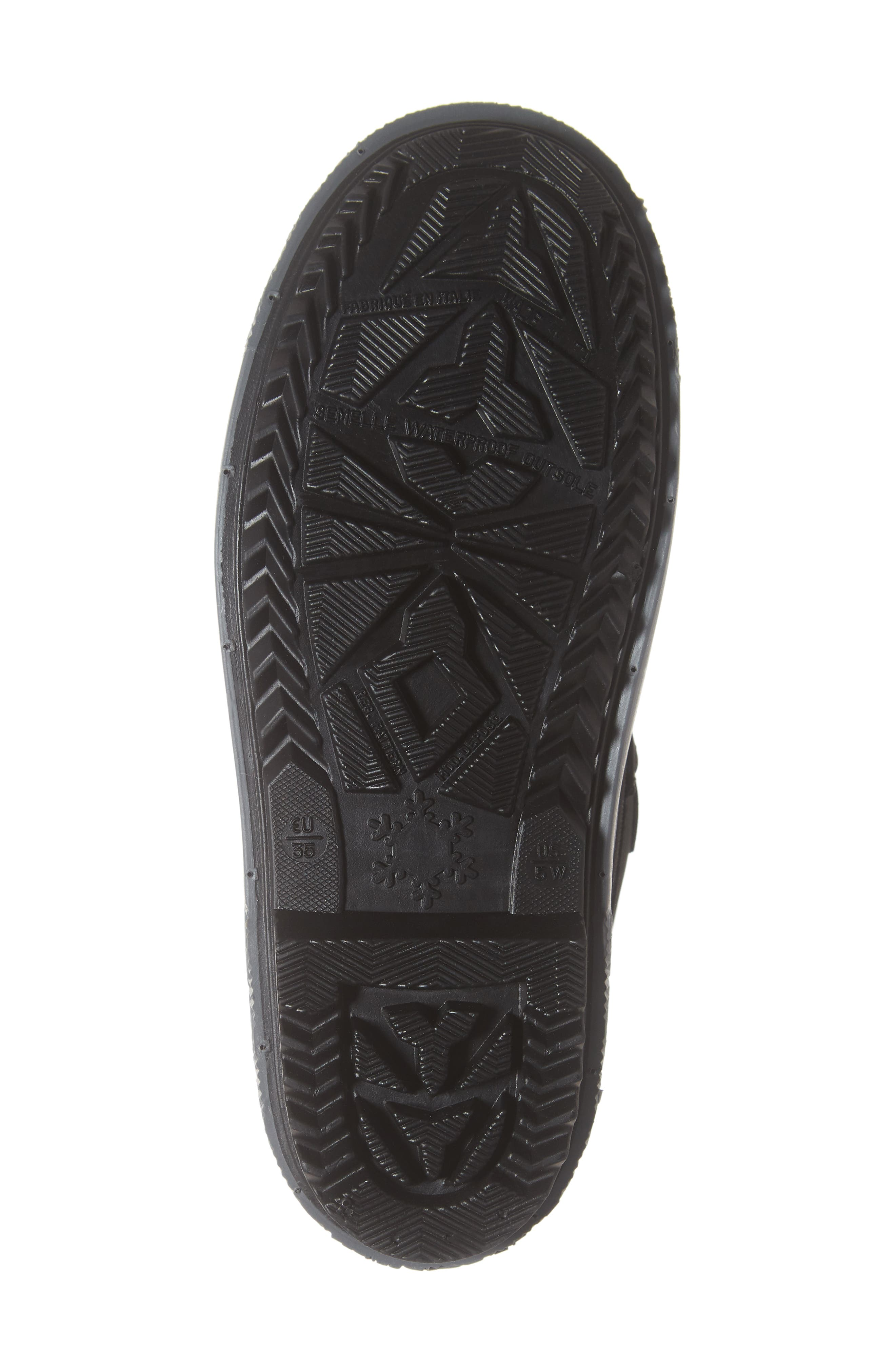 Cali Waterproof Insulated Boot,                             Alternate thumbnail 6, color,                             BROWN/ BLACK