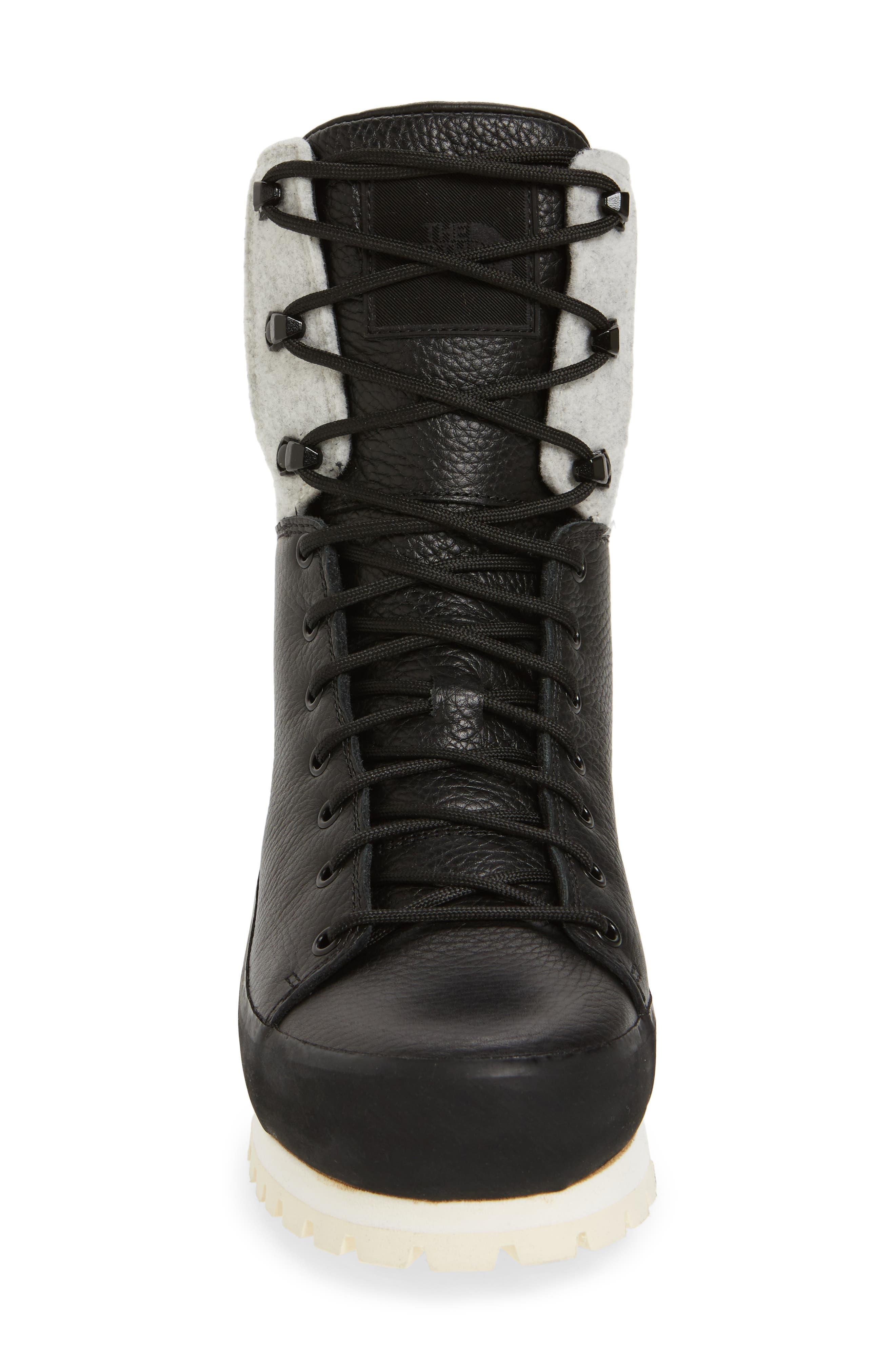Cryos Boot,                             Alternate thumbnail 4, color,                             TNF BLACK/ GLACIER WHITE