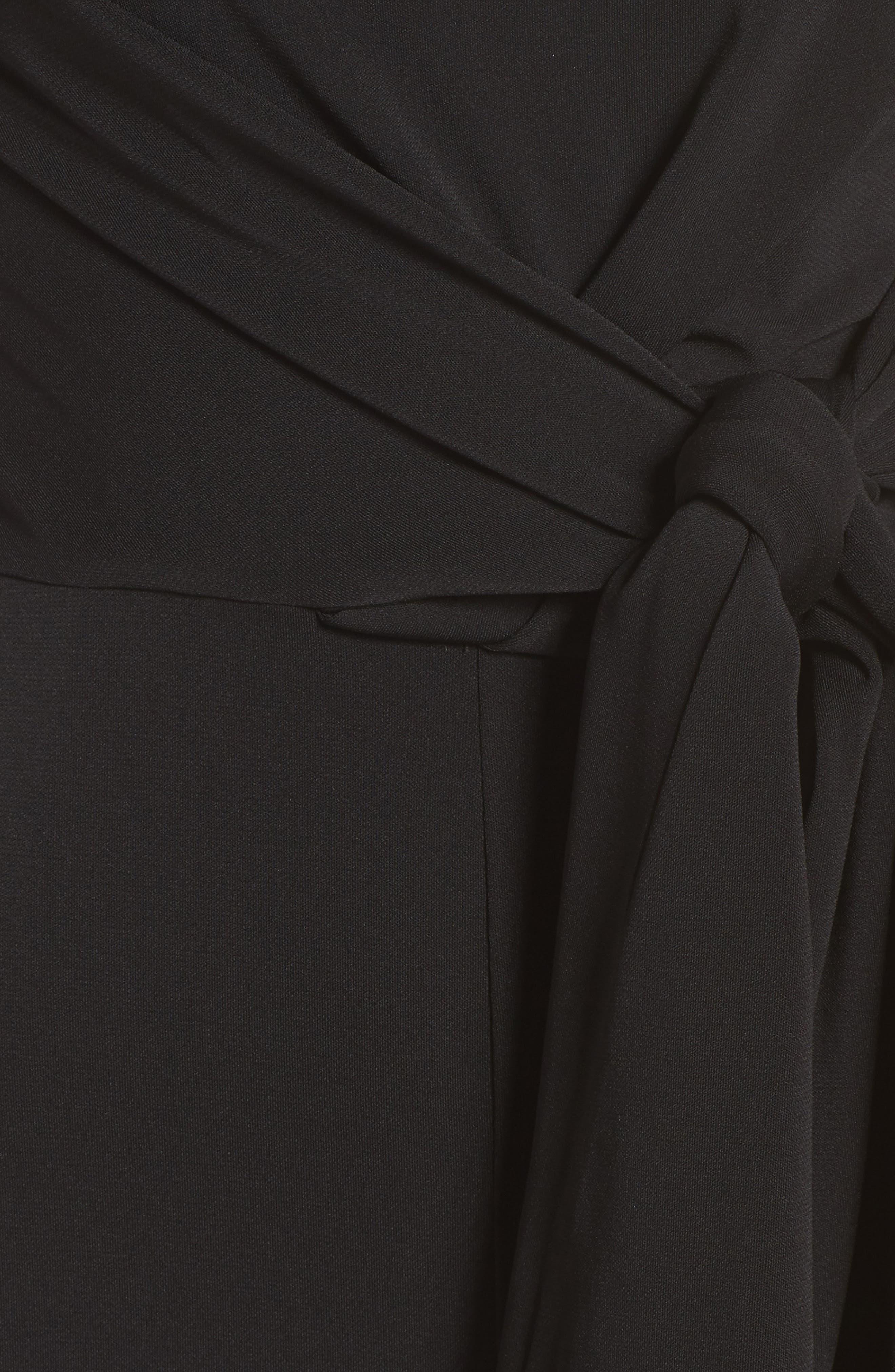 Recollect One-Shoulder Jumpsuit,                             Alternate thumbnail 5, color,                             001
