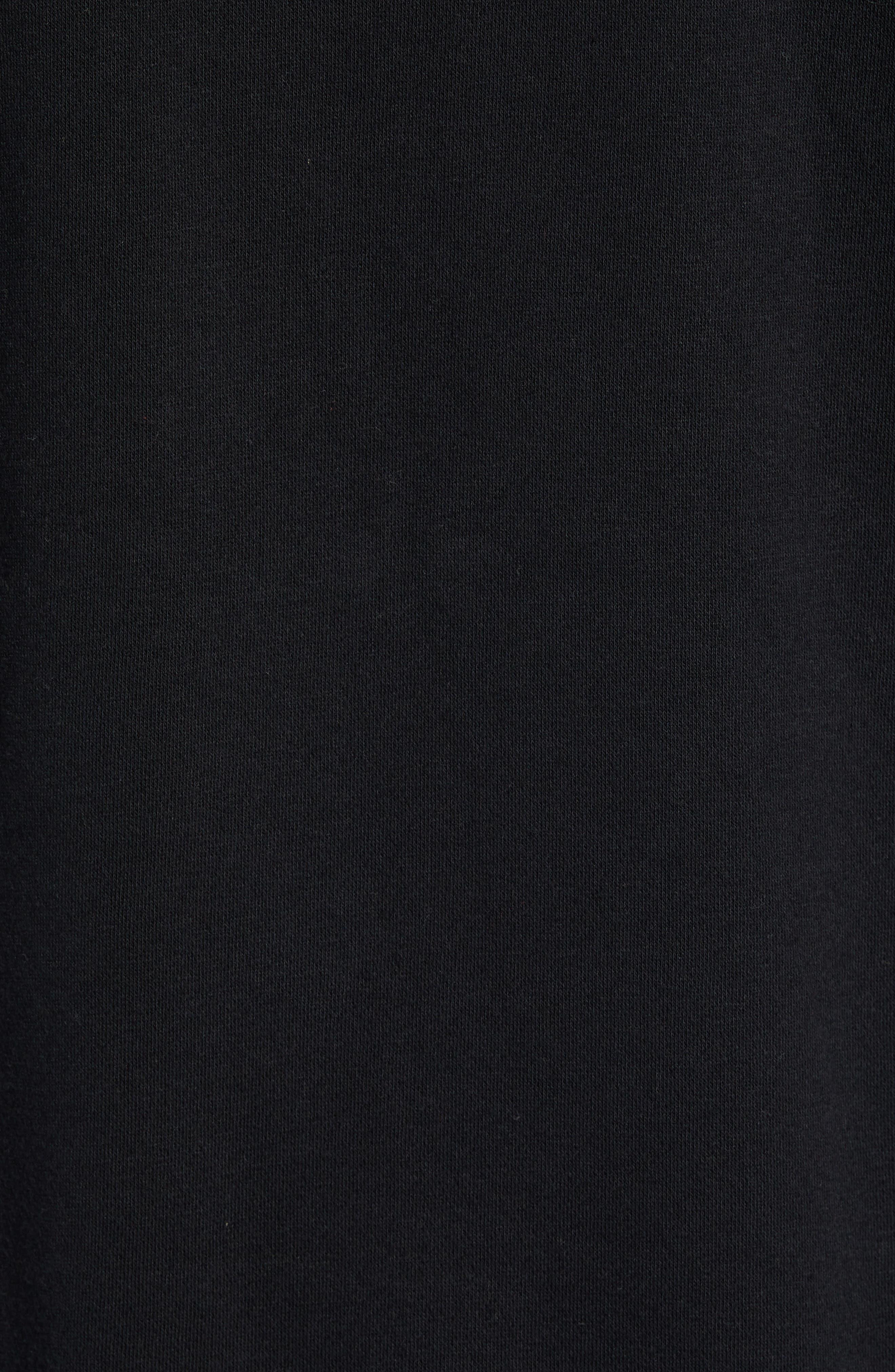 B-Shield Hooded Sweatshirt,                             Alternate thumbnail 5, color,                             001