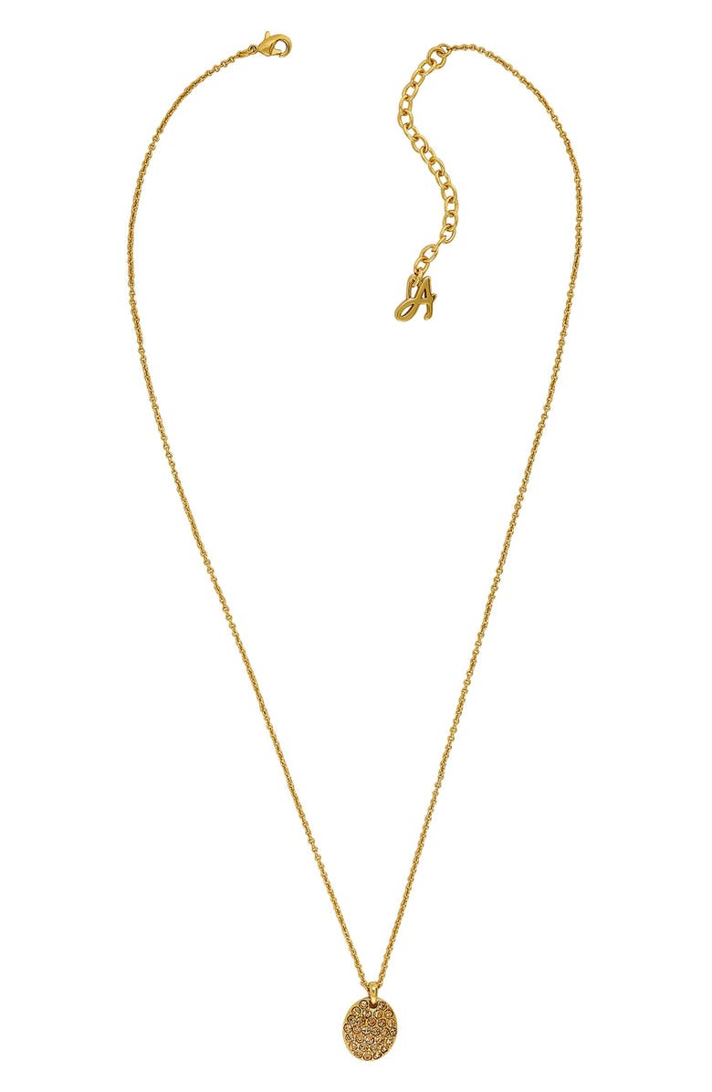 Adore PAVE CRYSTAL OVAL NECKLACE